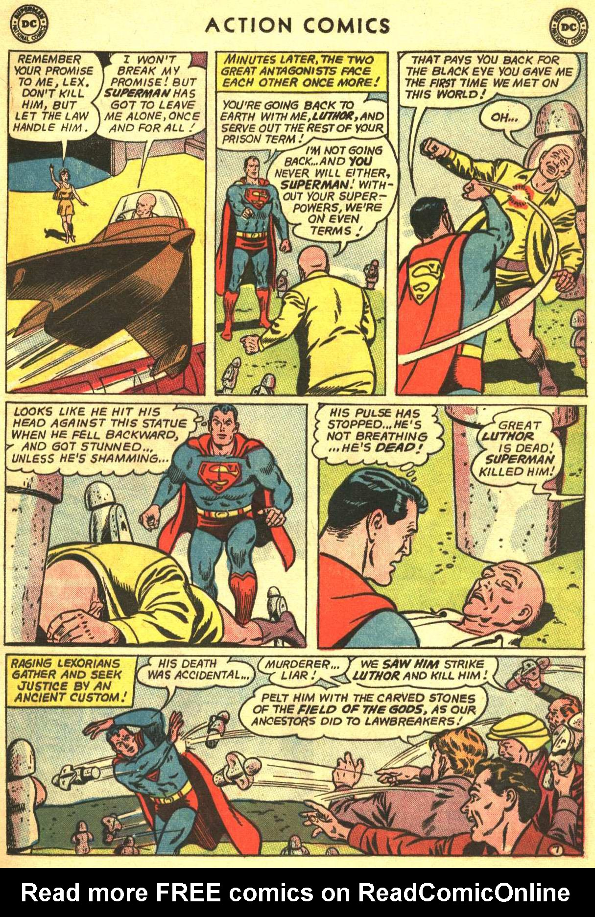 Read online Action Comics (1938) comic -  Issue #318 - 8