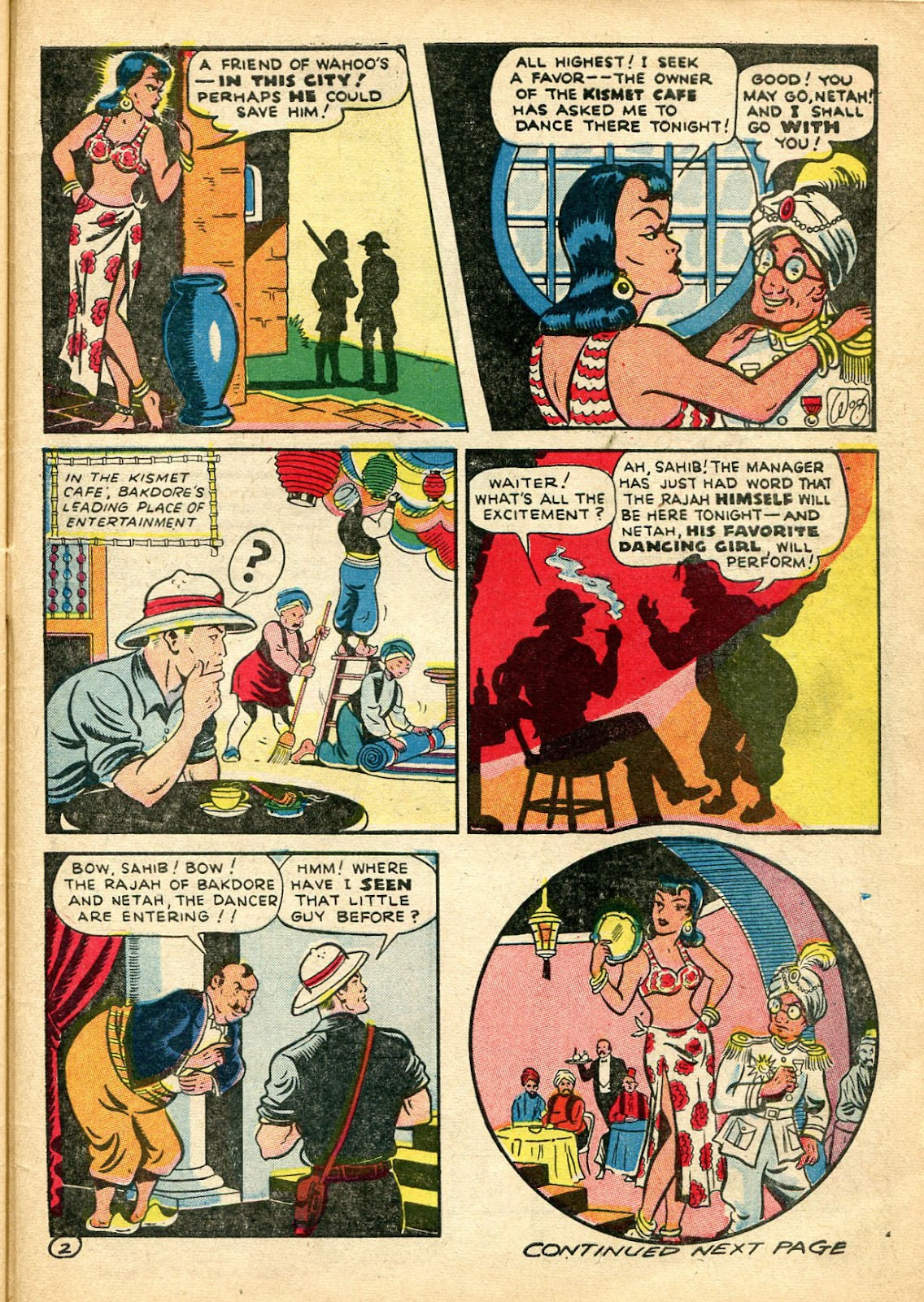 Read online Famous Funnies comic -  Issue #110 - 55