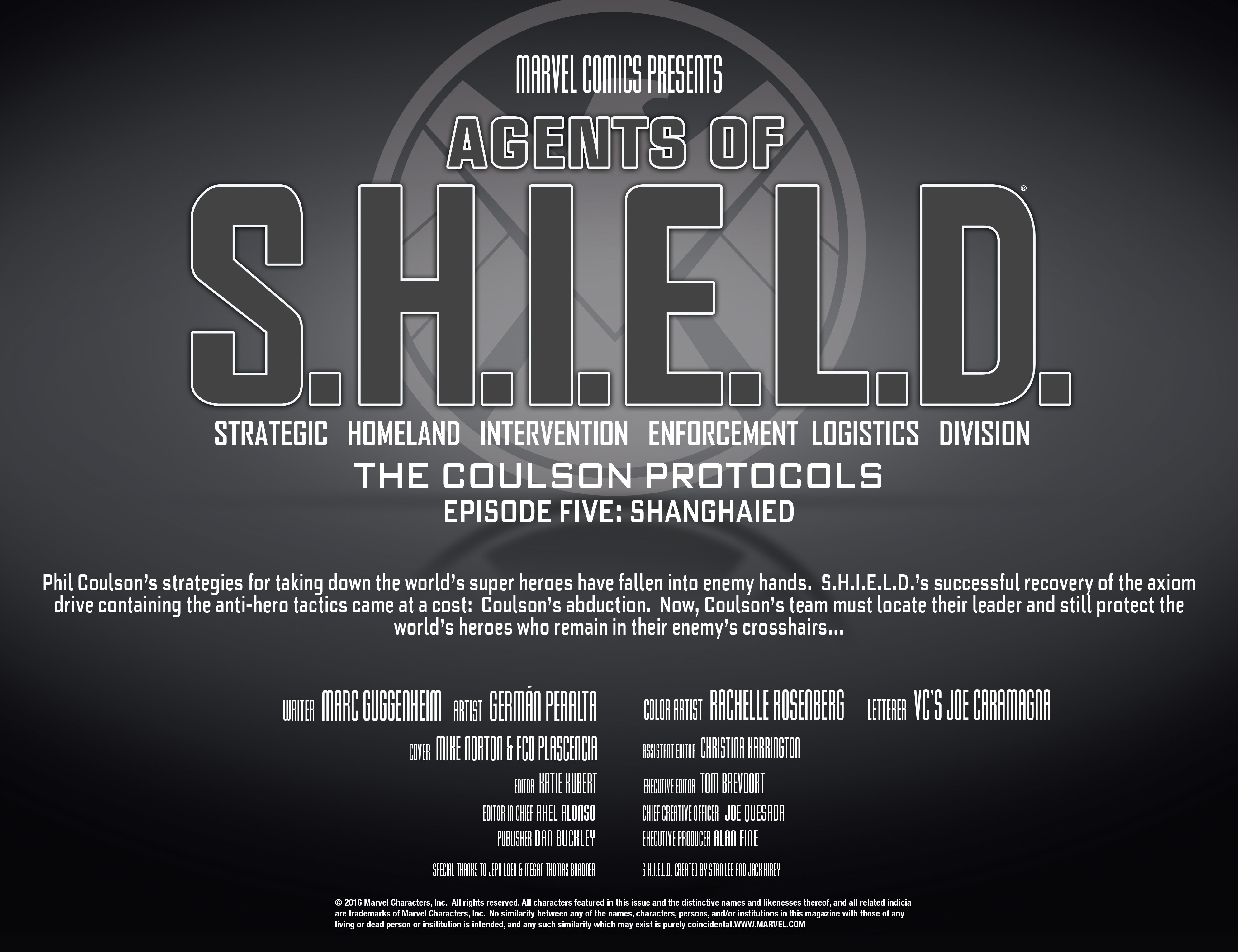 Read online Agents of S.H.I.E.L.D. comic -  Issue #5 - 4