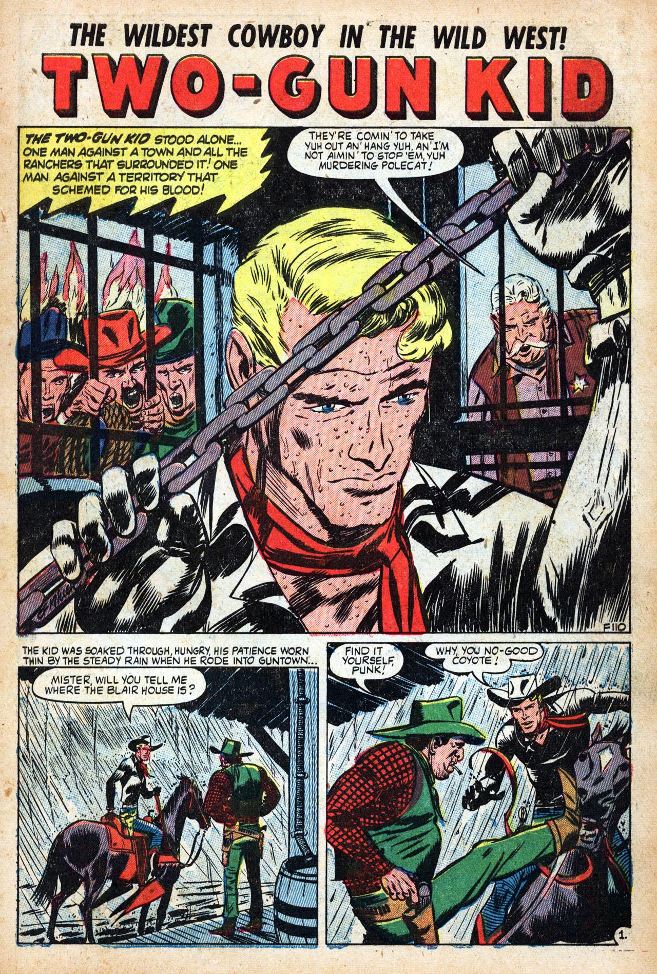 Read online Two-Gun Kid comic -  Issue #19 - 3