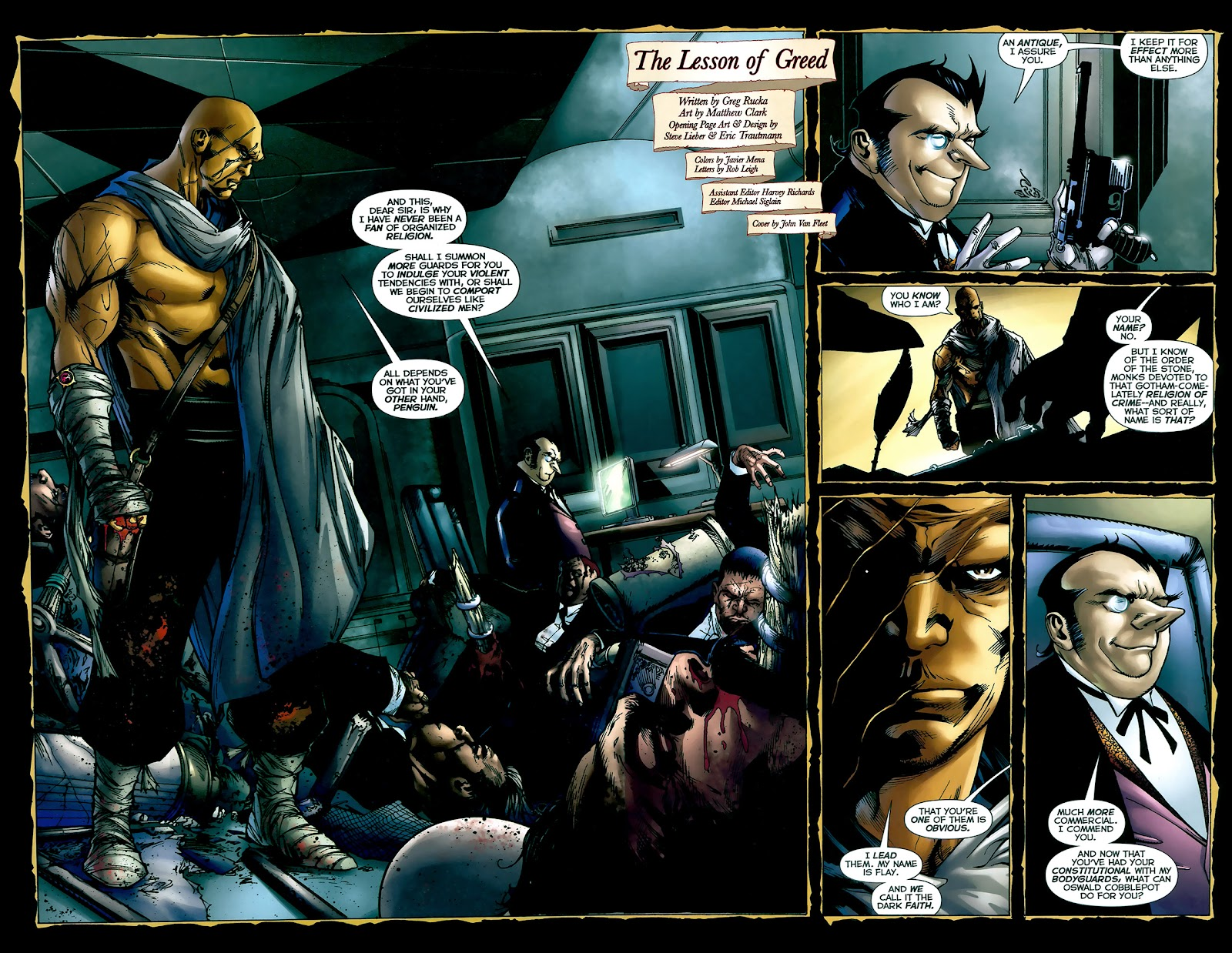 Crime Bible: The Five Lessons of Blood issue 3 - Page 3