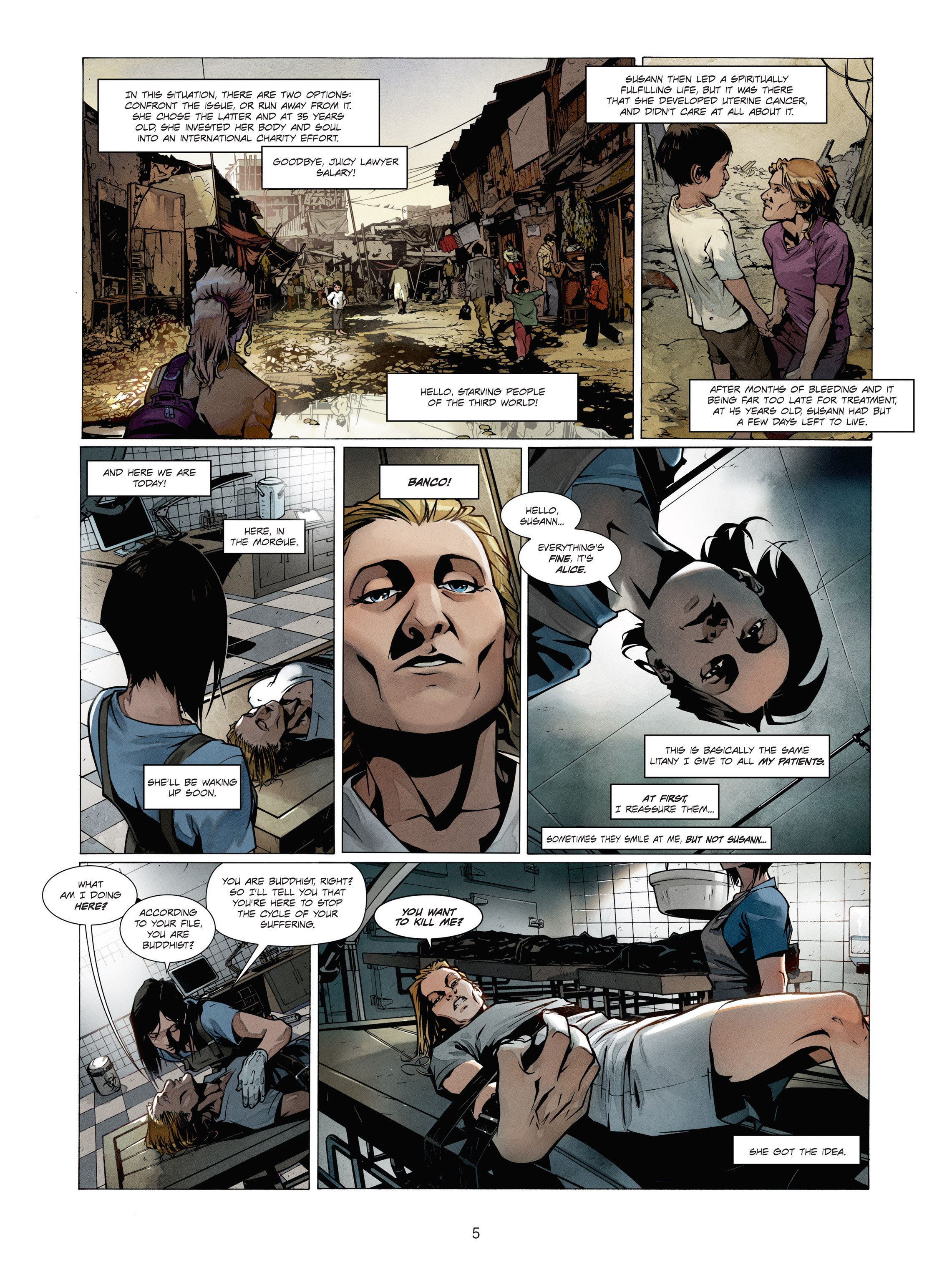 Read online Alice Matheson comic -  Issue #1 - 5