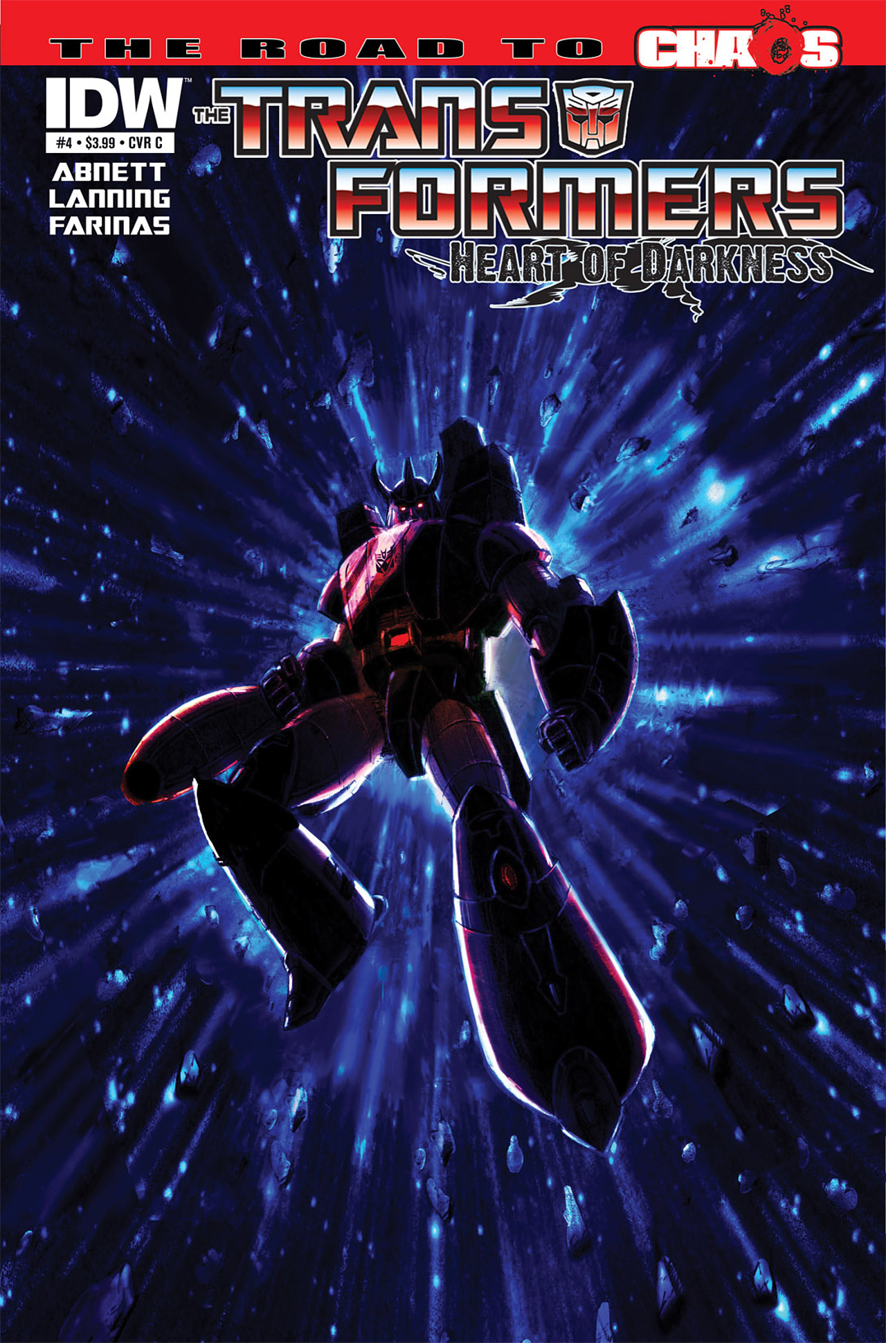 Read online Transformers: Heart of Darkness comic -  Issue #4 - 3