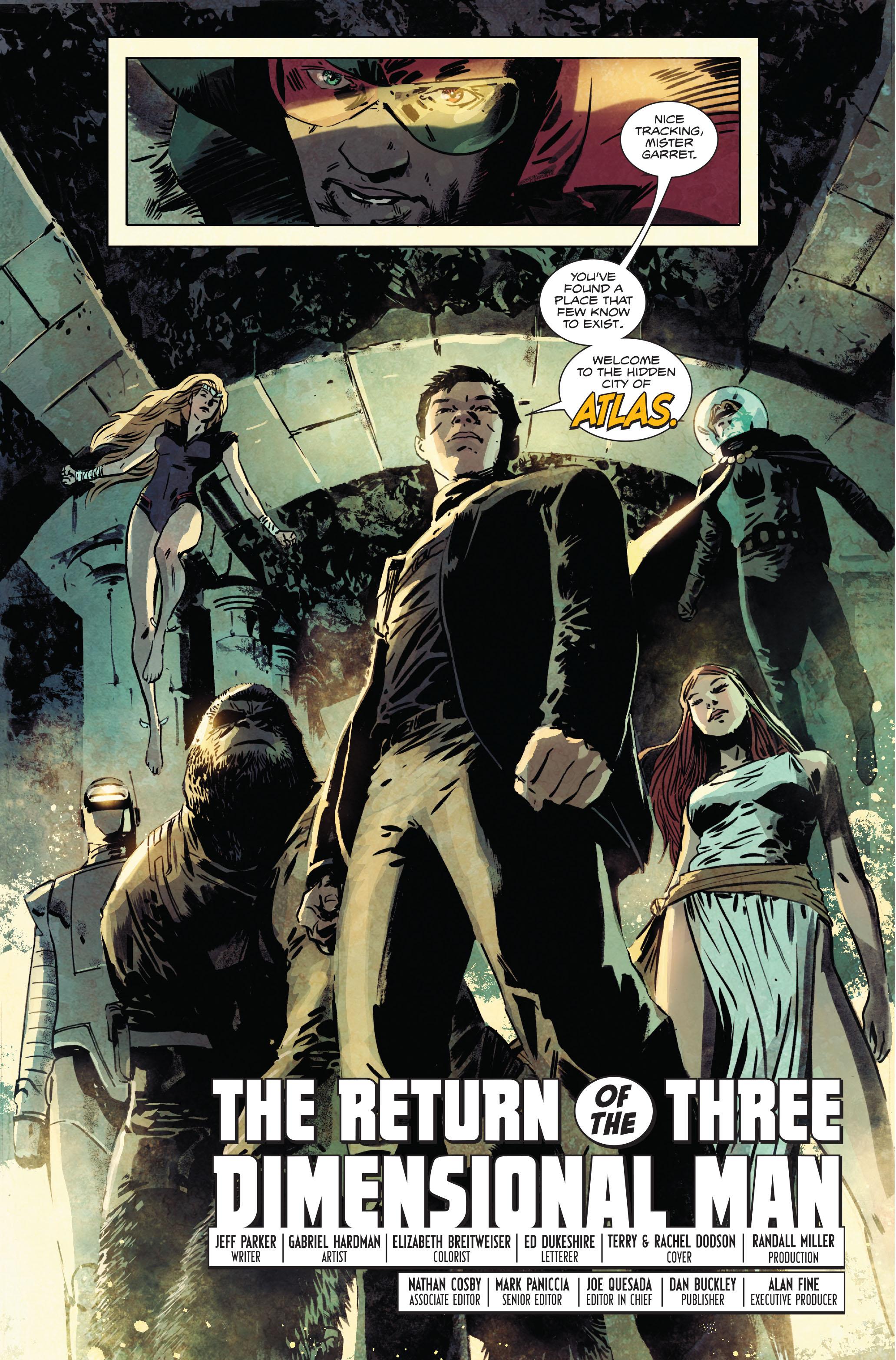 Read online Atlas comic -  Issue #1 - 19