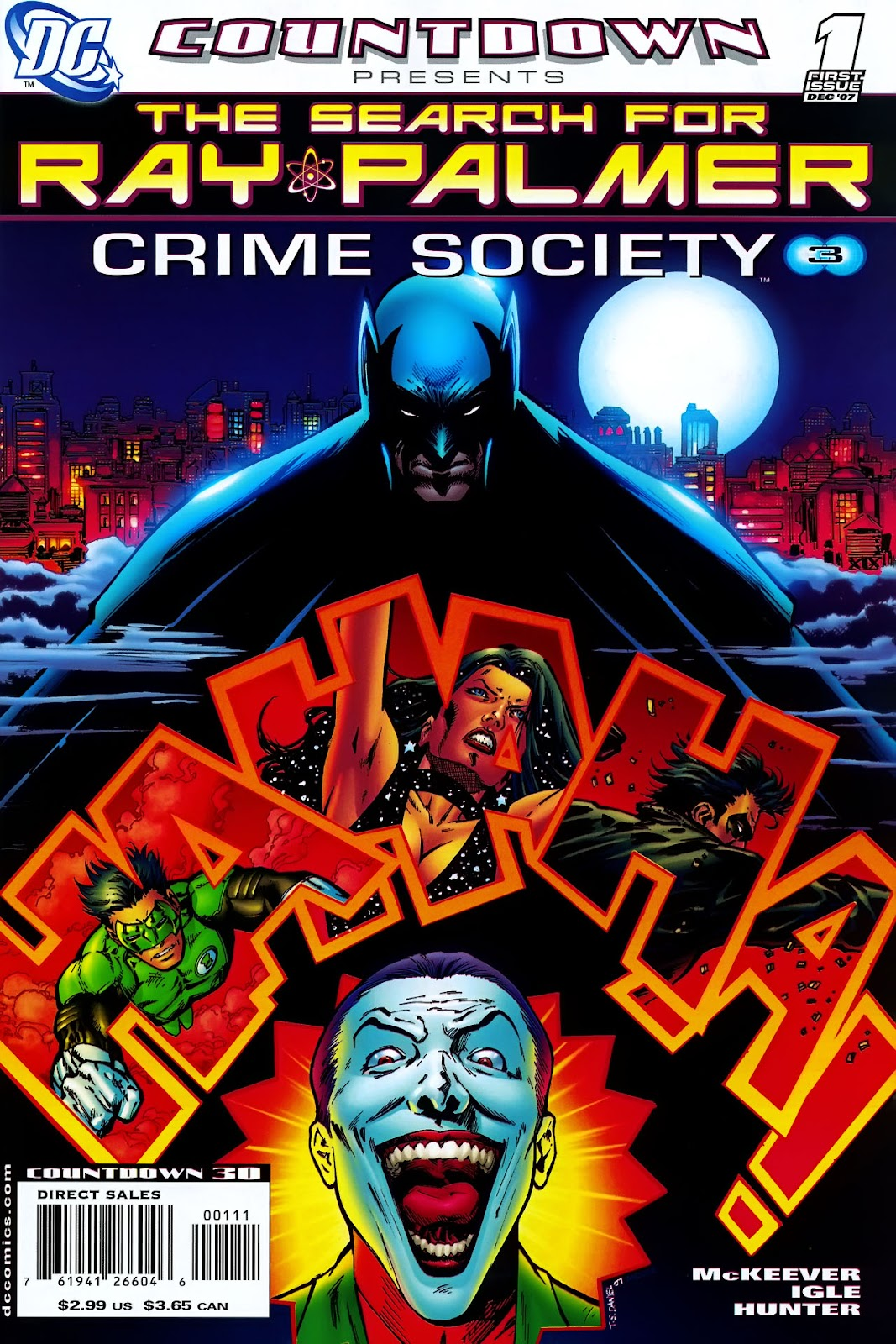 Countdown Presents: The Search for Ray Palmer issue Crime Society (2007) - Page 1