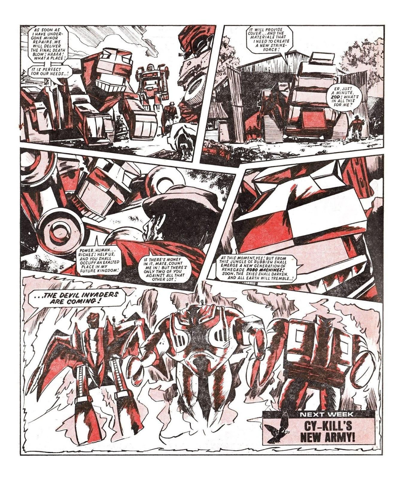 Read online Robo Machines comic -  Issue # TPB - 81