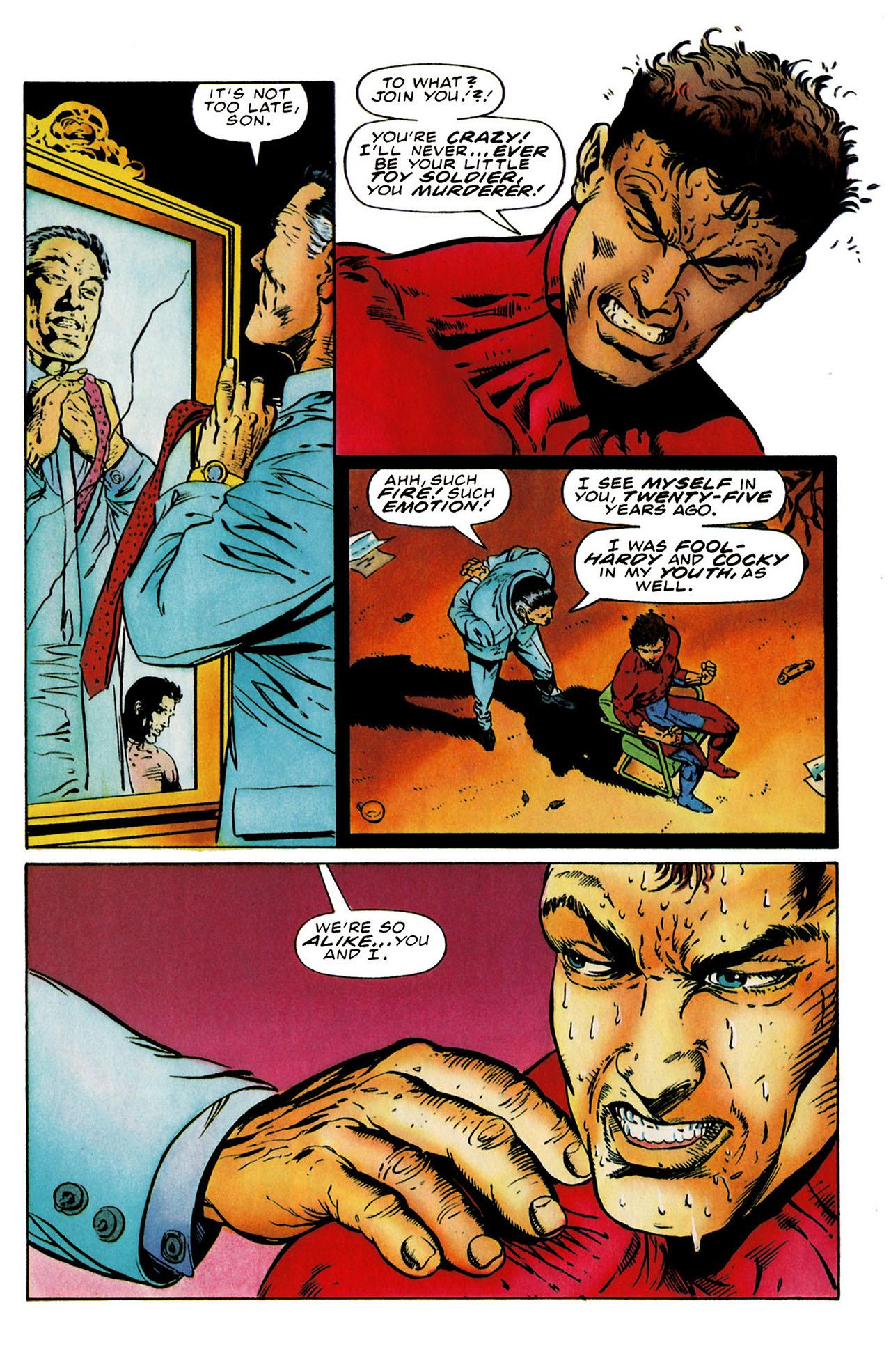 Read online Harbinger (1992) comic -  Issue #25 - 21