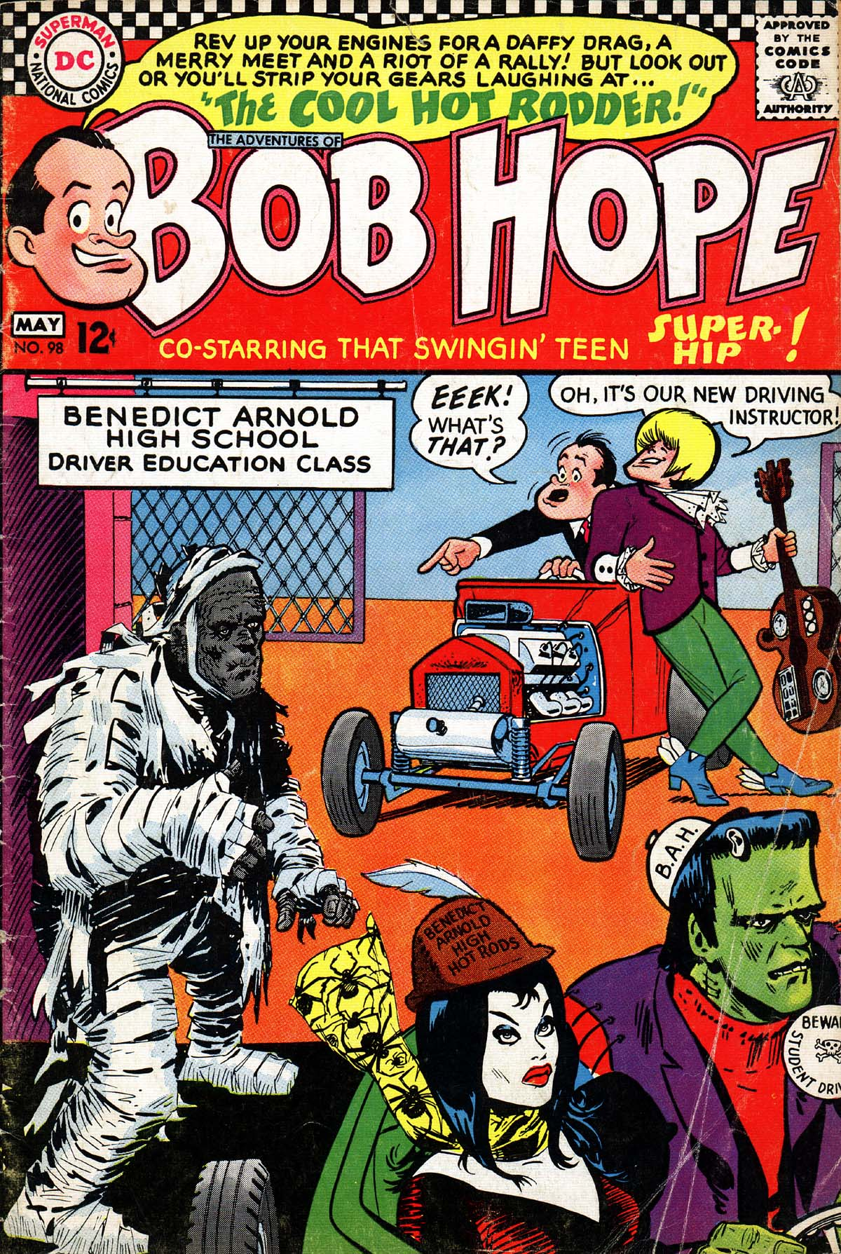 The Adventures of Bob Hope 98 Page 1