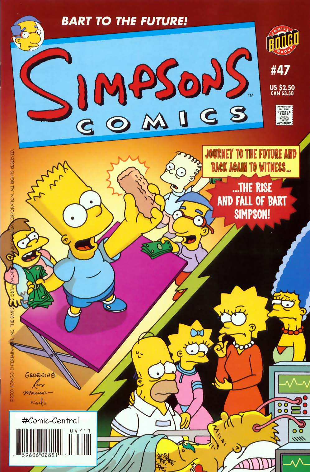 Read online Simpsons Comics comic -  Issue #47 - 1