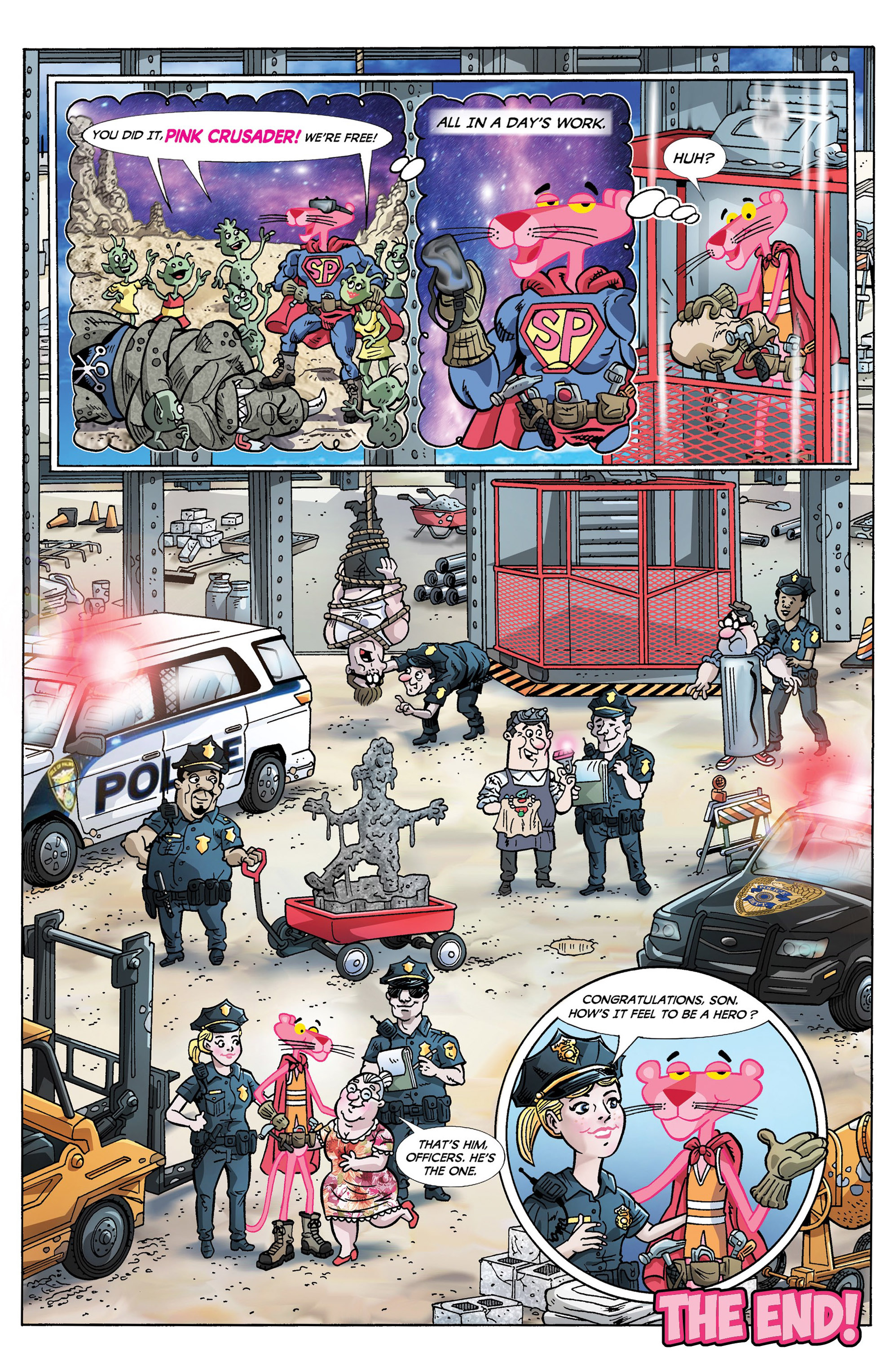 Read online Pink Panther Super-Pink Special comic -  Issue # Full - 11