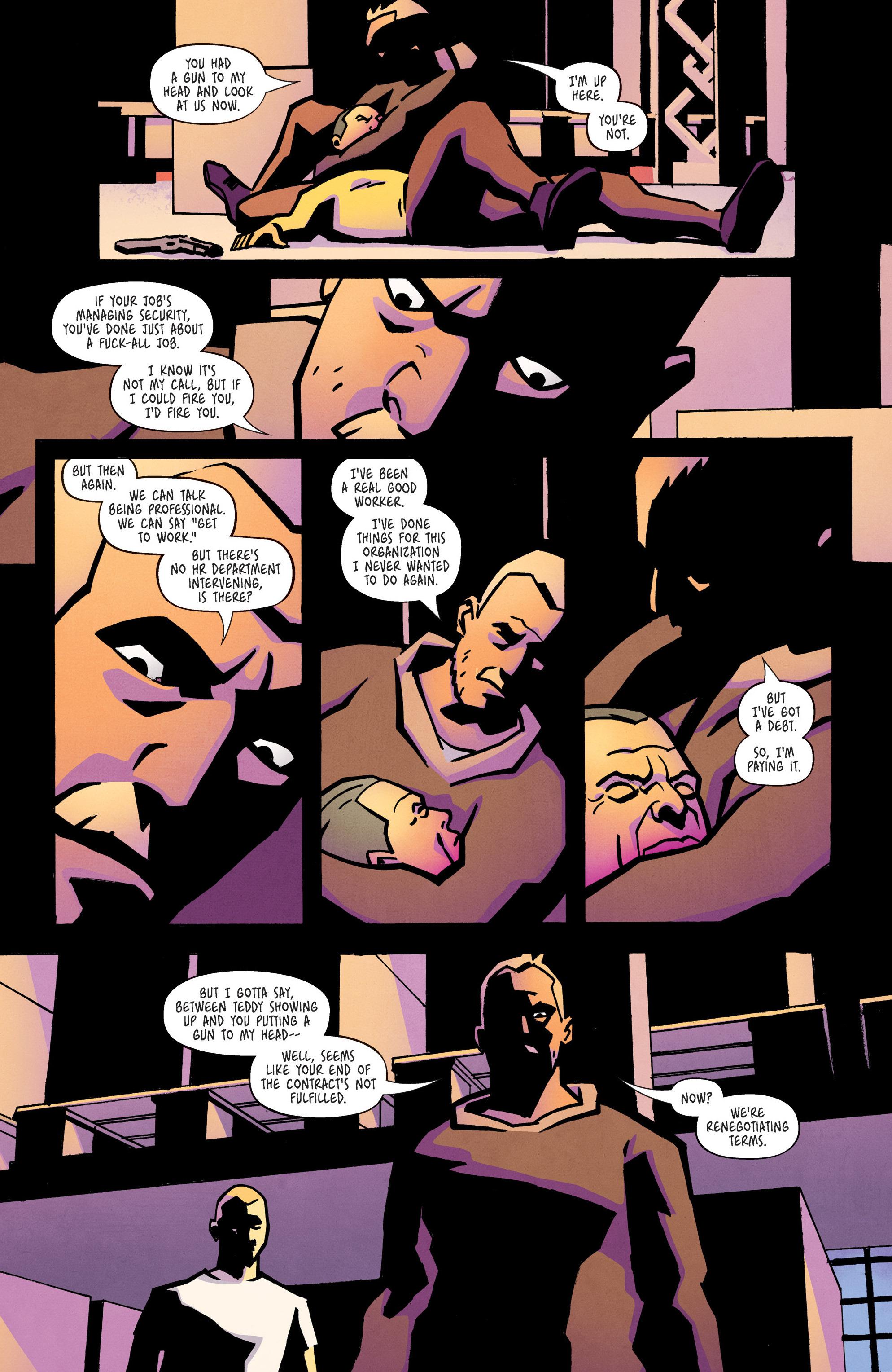 Read online Ringside comic -  Issue #10 - 17