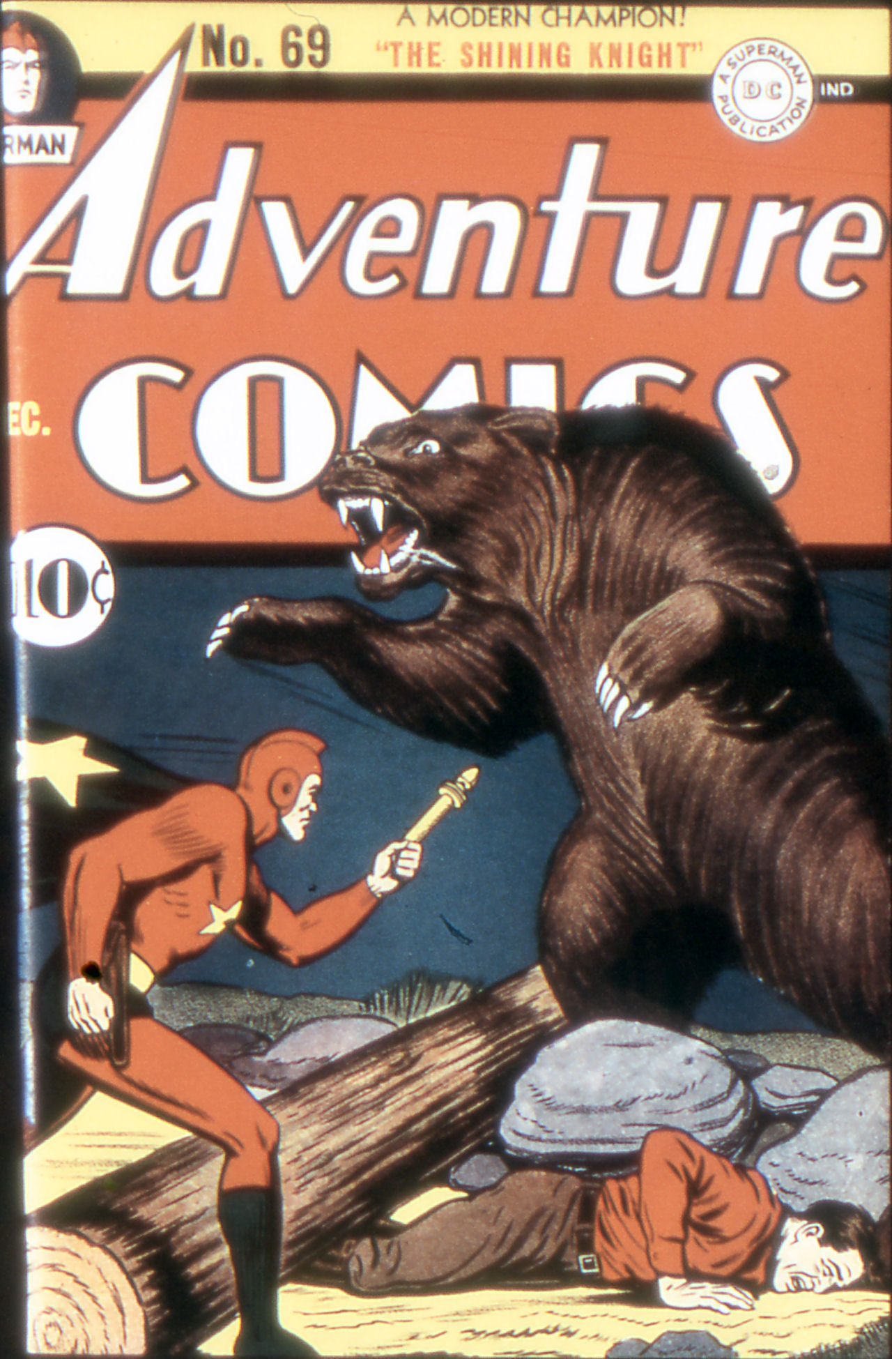 Read online Adventure Comics (1938) comic -  Issue #69 - 1