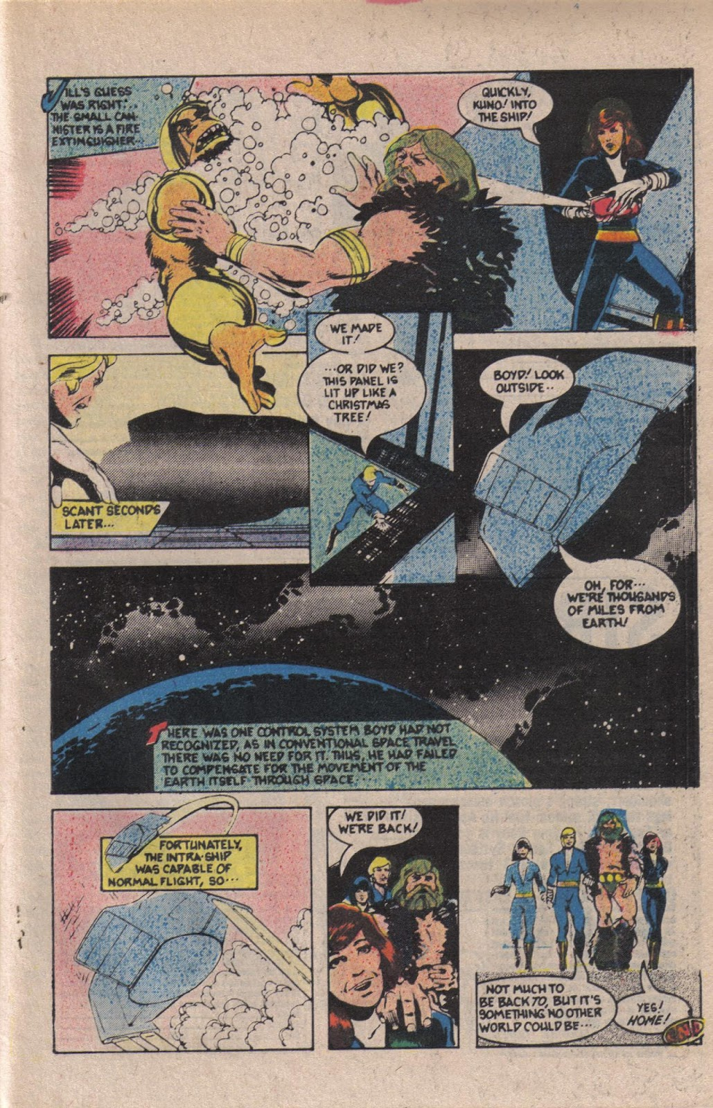 Read online Doomsday   1 (1975) comic -  Issue #12 - 28