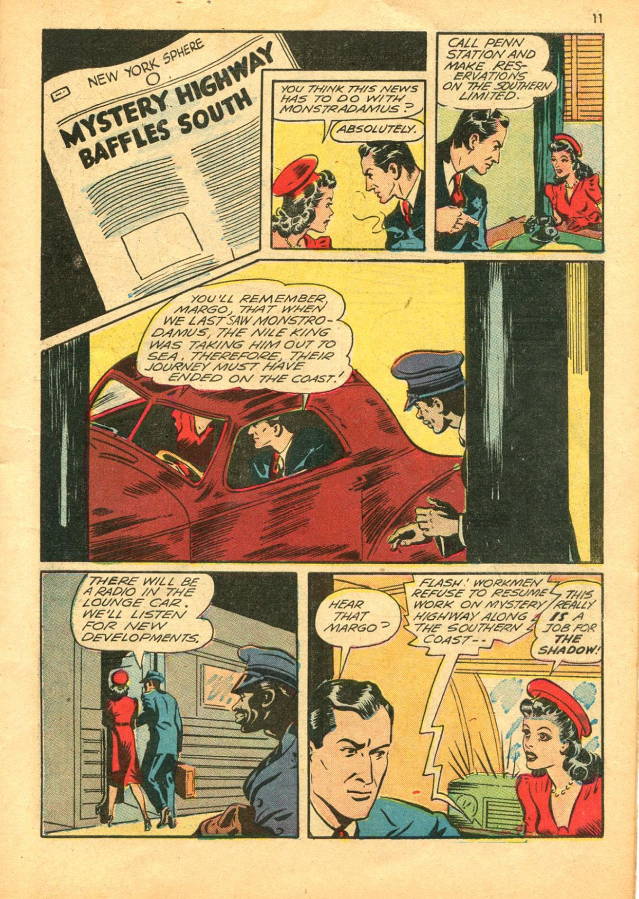 Read online Shadow Comics comic -  Issue #30 - 11