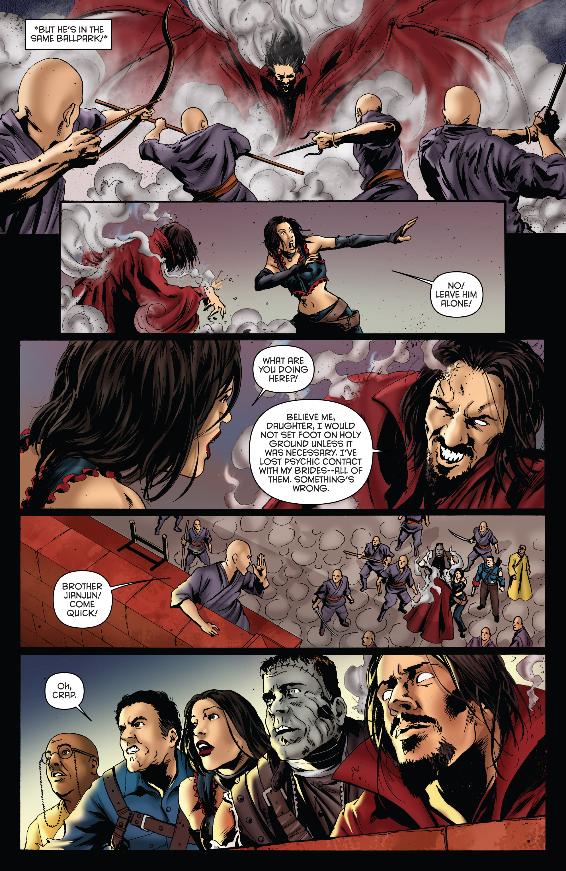 Read online Army of Darkness: Furious Road comic -  Issue #5 - 23