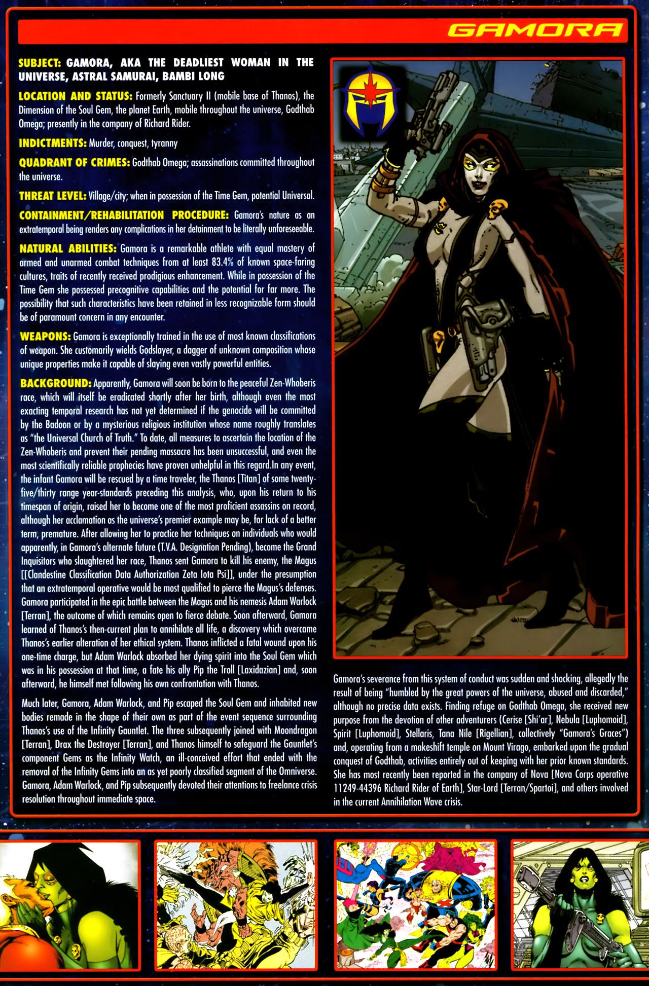 Read online Annihilation:  The  Nova Corps Files comic -  Issue #Annihilation:  The  Nova Corps Files Full - 17