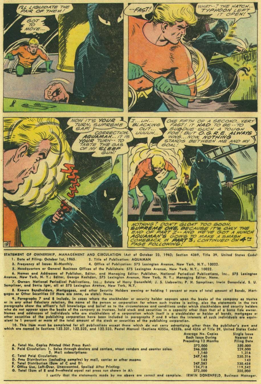 Aquaman (1962) Issue #26 #26 - English 24