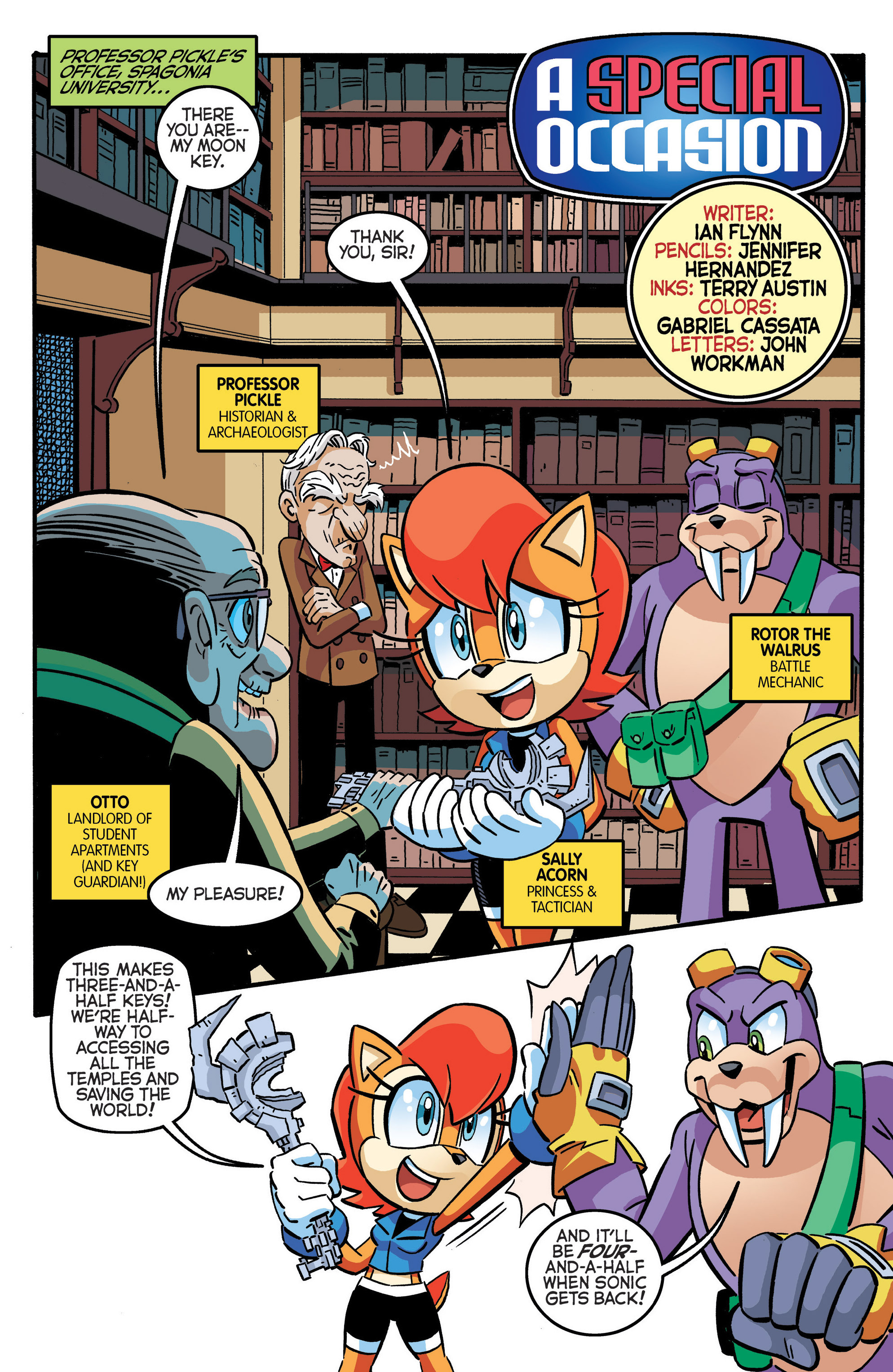 Read online Sonic The Hedgehog comic -  Issue #280 - 14