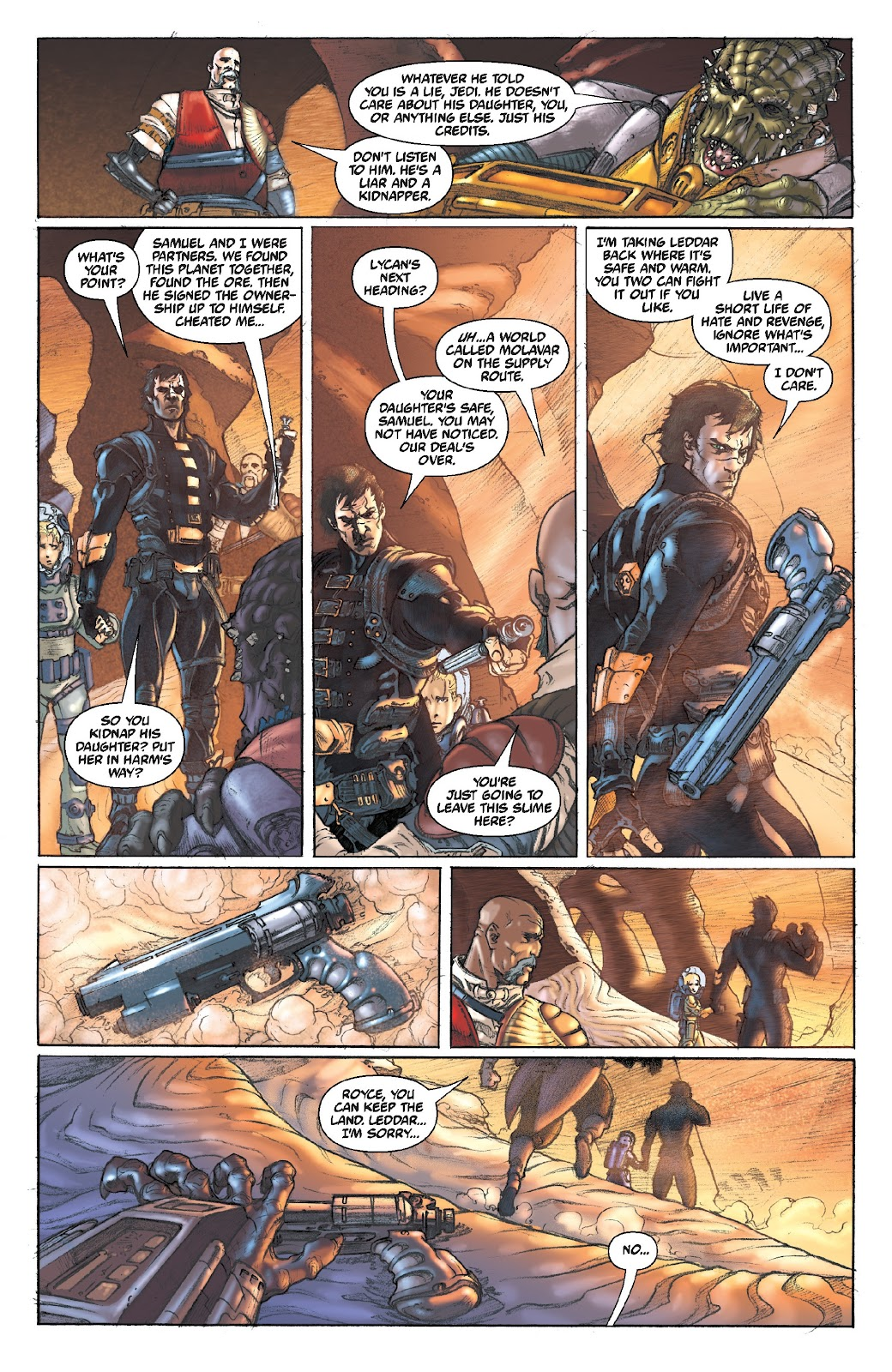Read online Star Wars Legends Epic Collection: The Menace Revealed comic -  Issue # TPB (Part 5) - 5