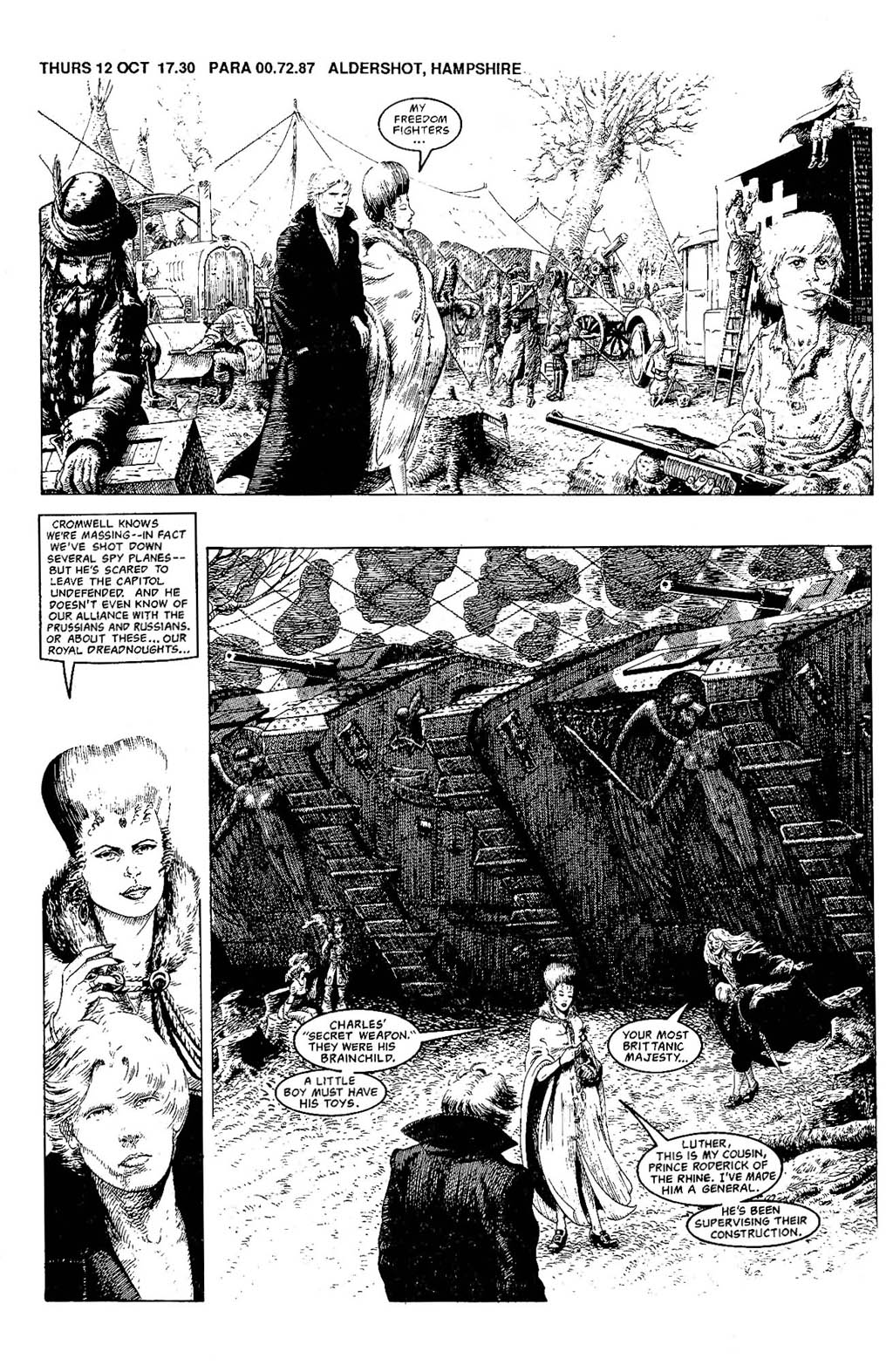 Read online The Adventures of Luther Arkwright comic -  Issue #7 - 4