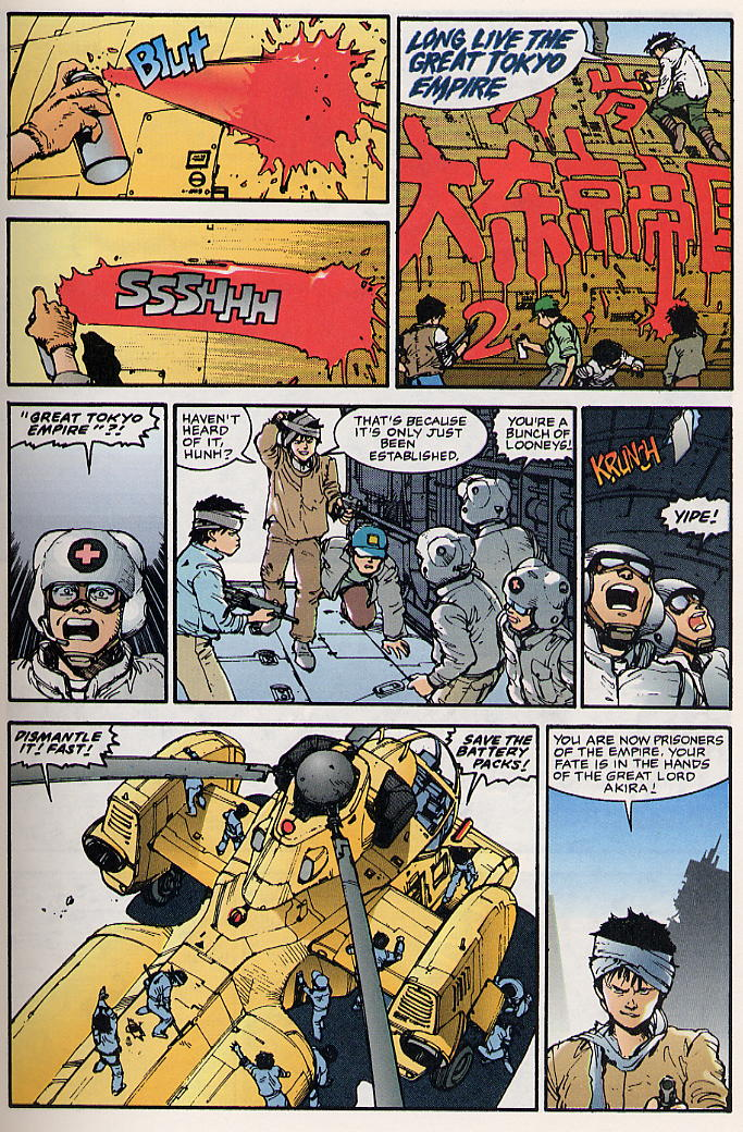 Read online Akira comic -  Issue #17 - 13