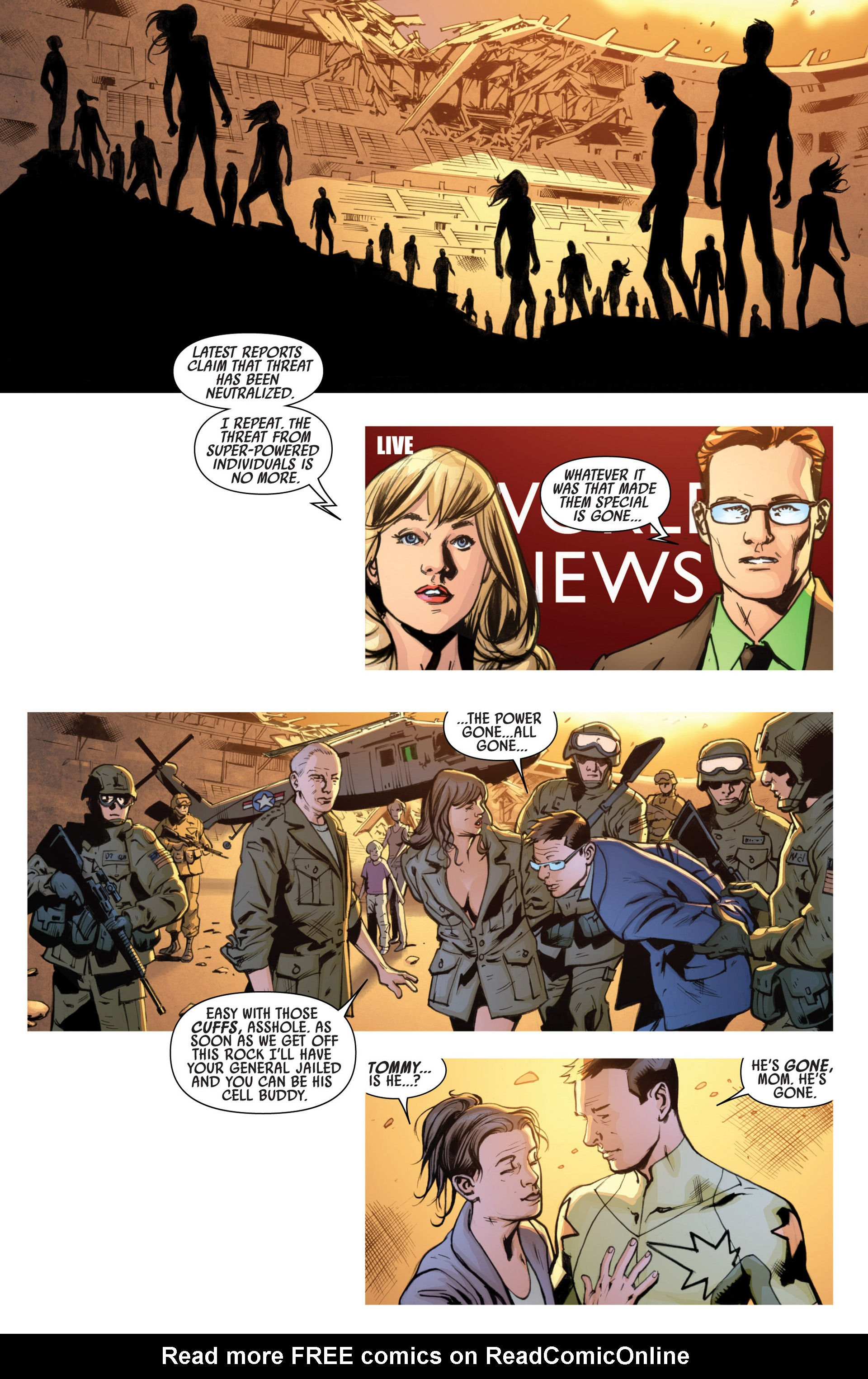 Read online America's Got Powers comic -  Issue #7 - 23