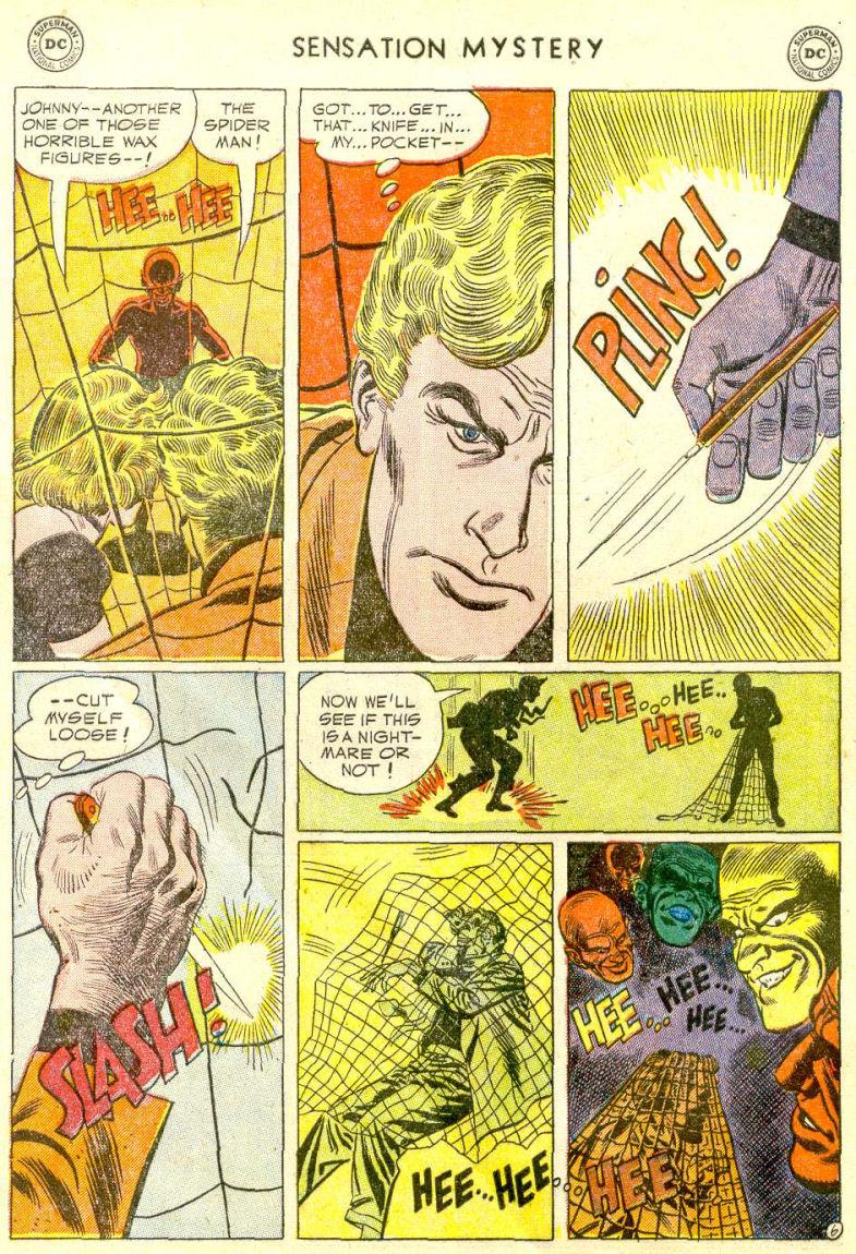 Read online Sensation (Mystery) Comics comic -  Issue #112 - 8