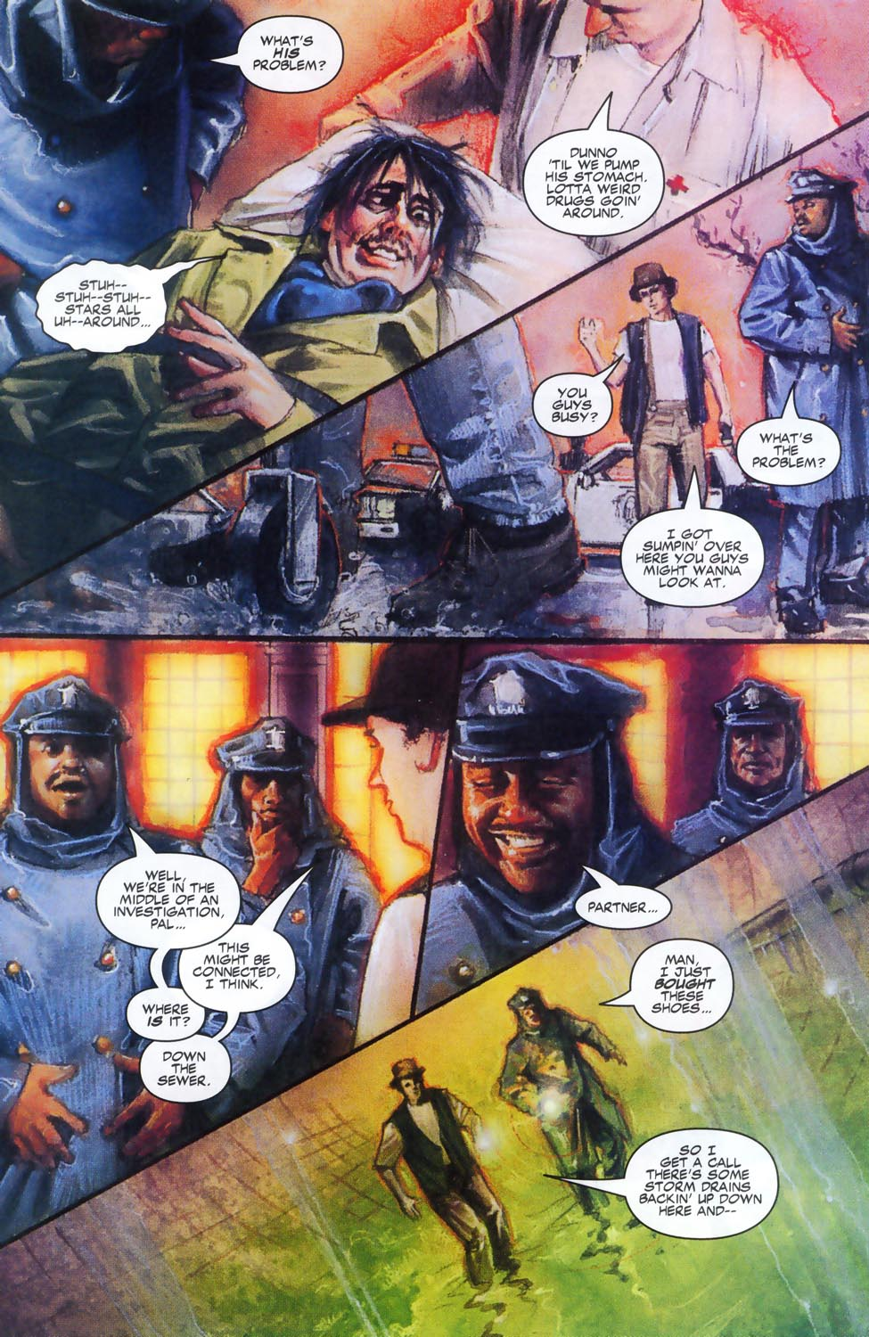 Read online Code of Honor comic -  Issue #2 - 30