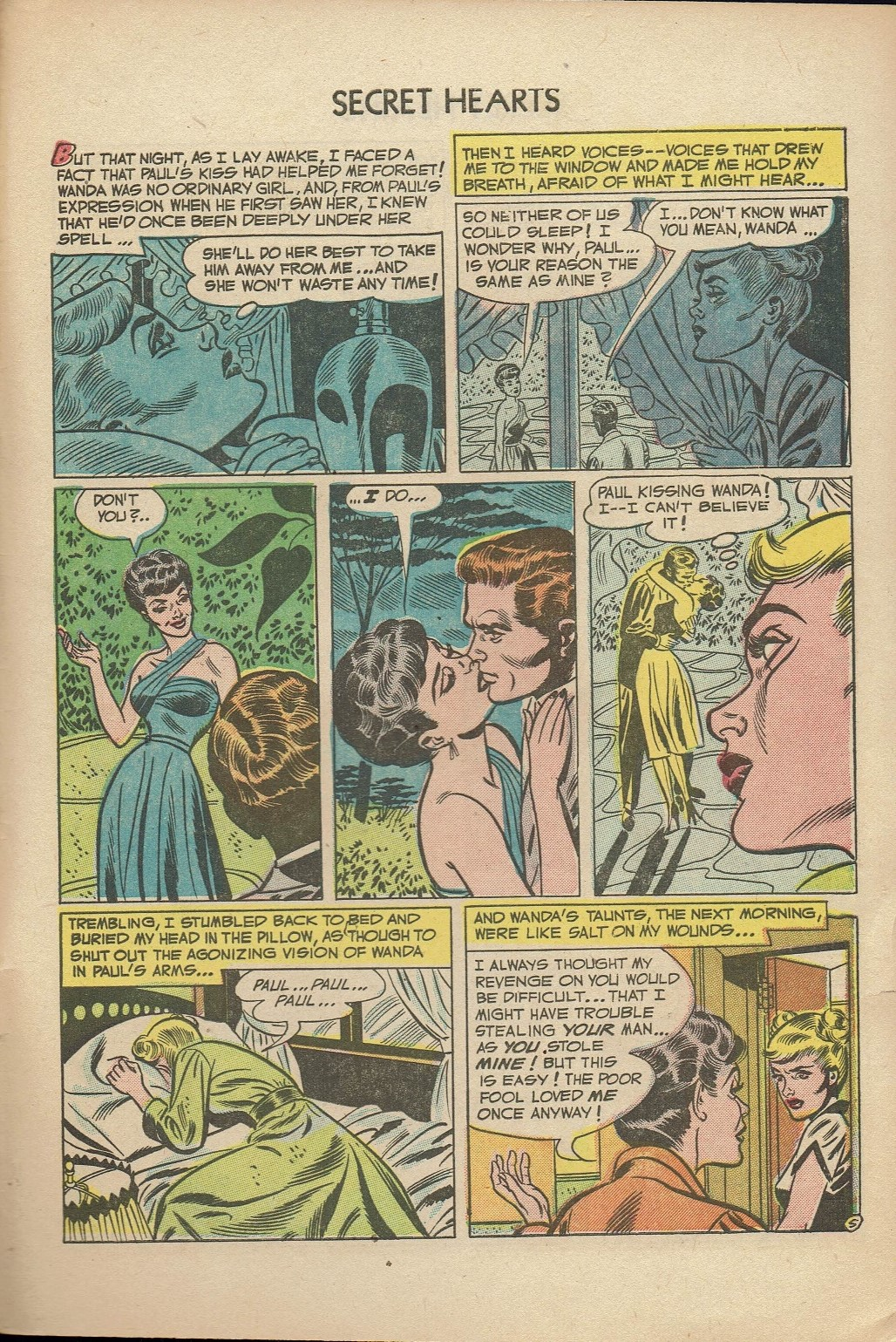 Read online Secret Hearts comic -  Issue #14 - 31
