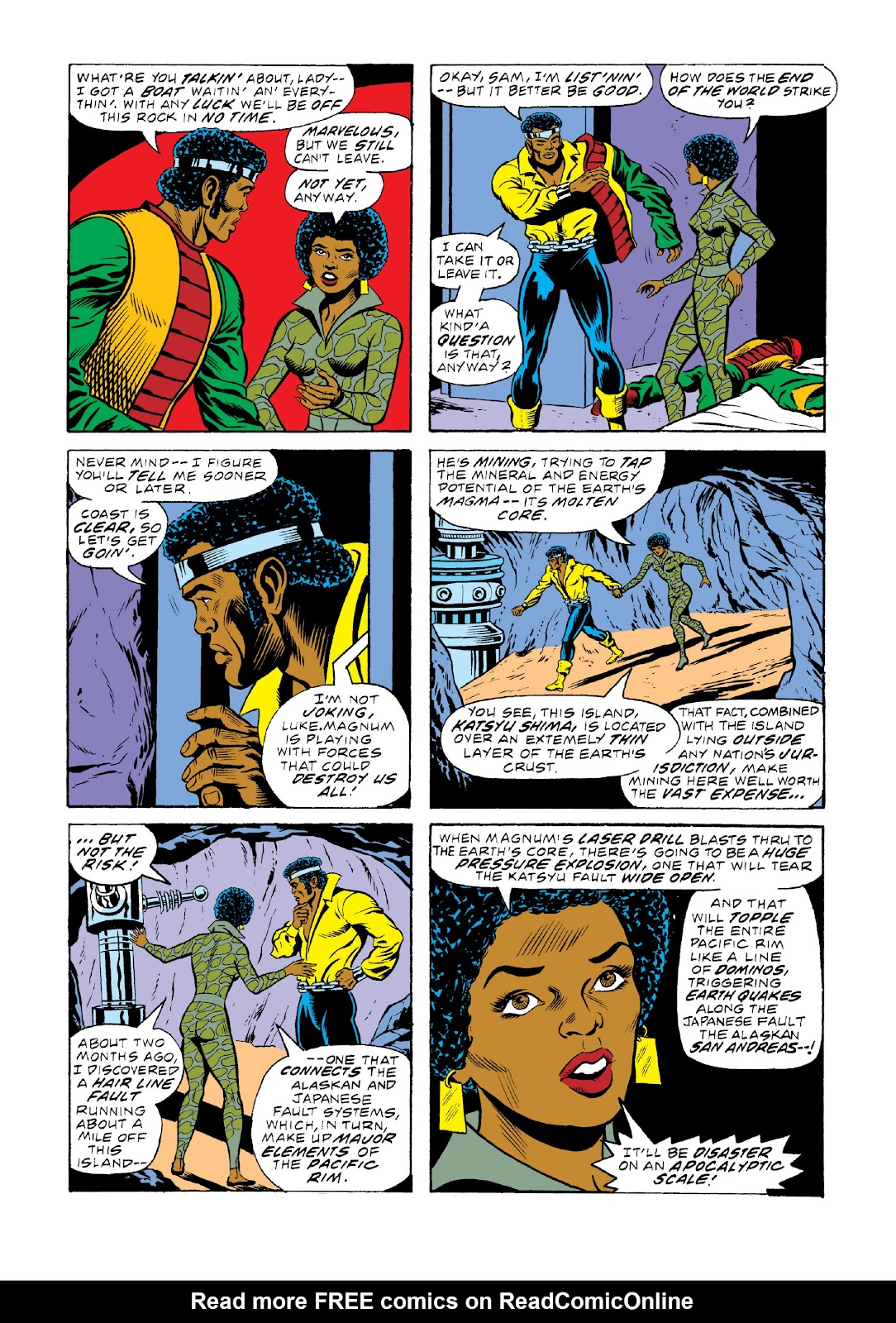 Read online Marvel Masterworks: Luke Cage, Power Man comic -  Issue # TPB 3 (Part 2) - 6