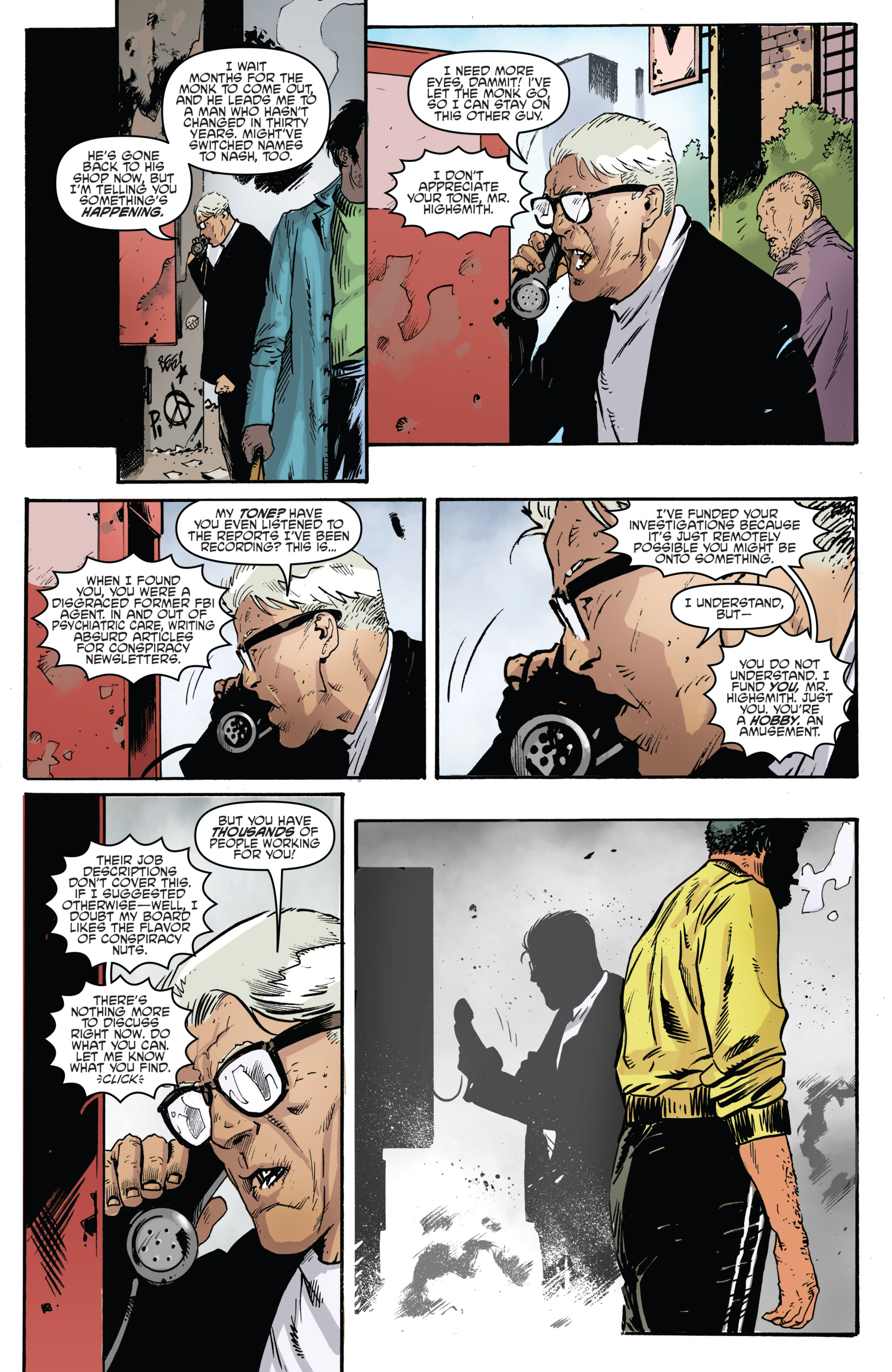 Read online Highlander: The American Dream comic -  Issue #4 - 19
