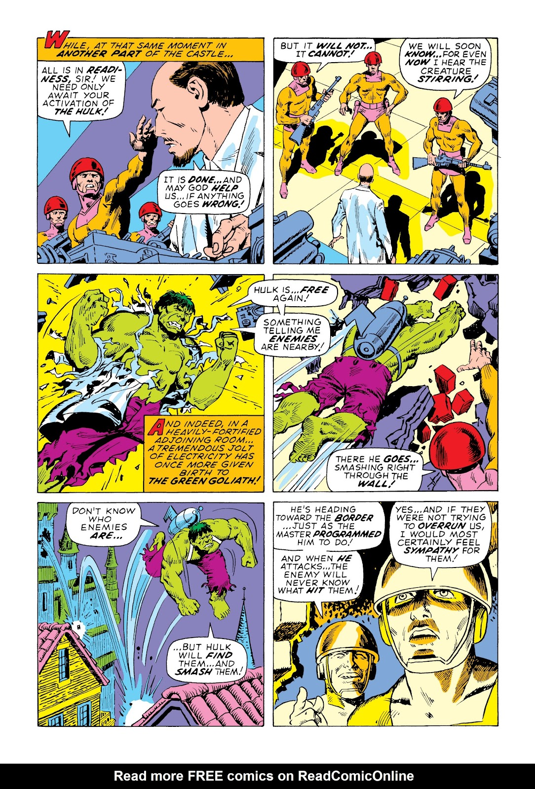 Read online Marvel Masterworks: The Incredible Hulk comic -  Issue # TPB 7 (Part 3) - 16