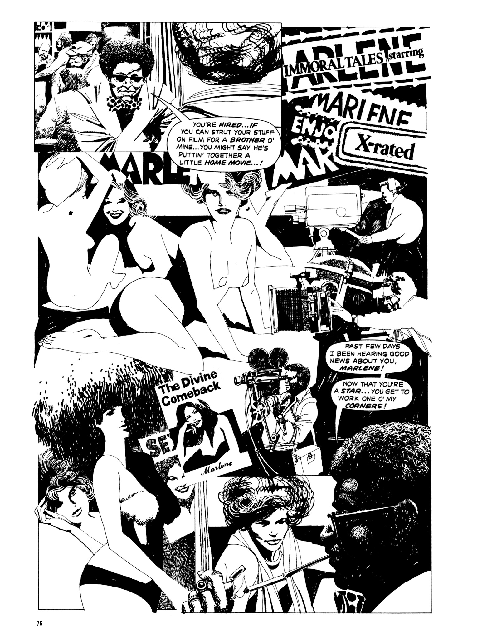 Read online Eerie Archives comic -  Issue # TPB 20 - 76