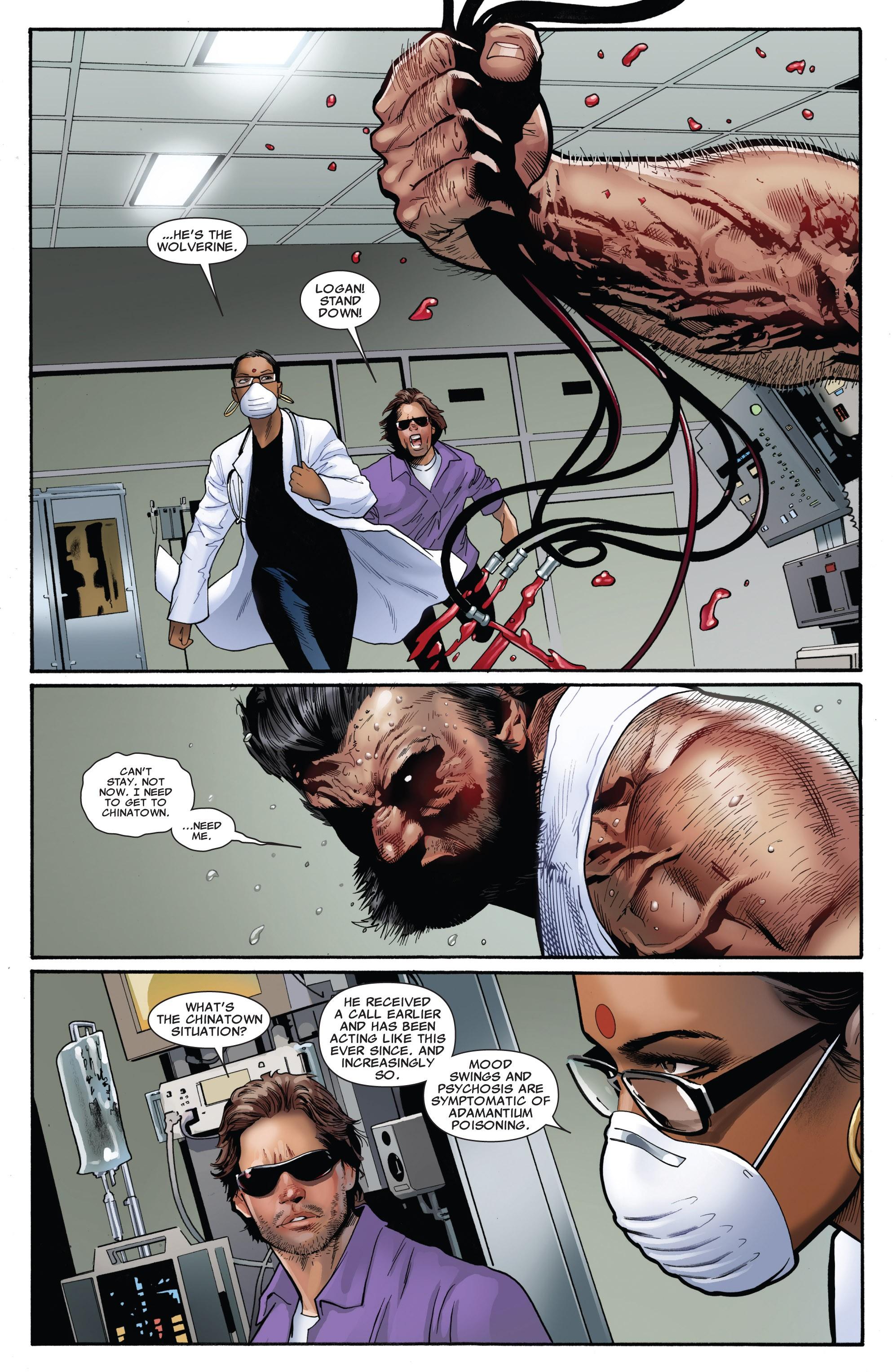Read online Uncanny X-Men (1963) comic -  Issue #531 - 8