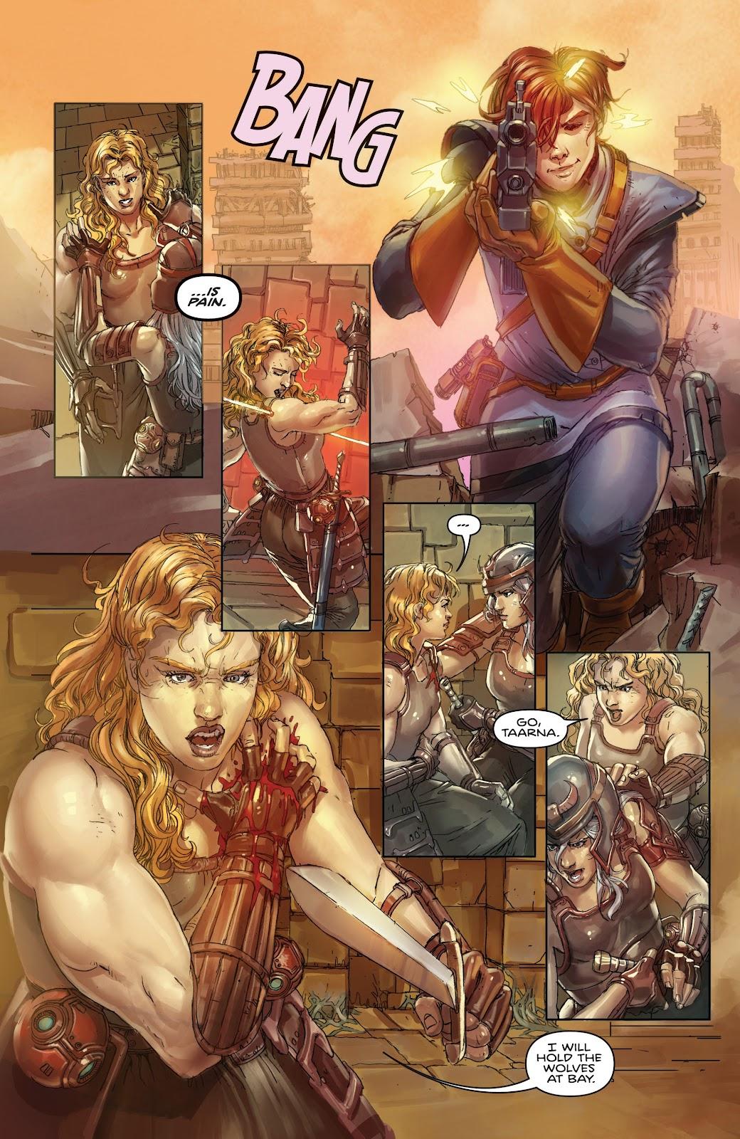 Read online Taarna comic -  Issue #4 - 5