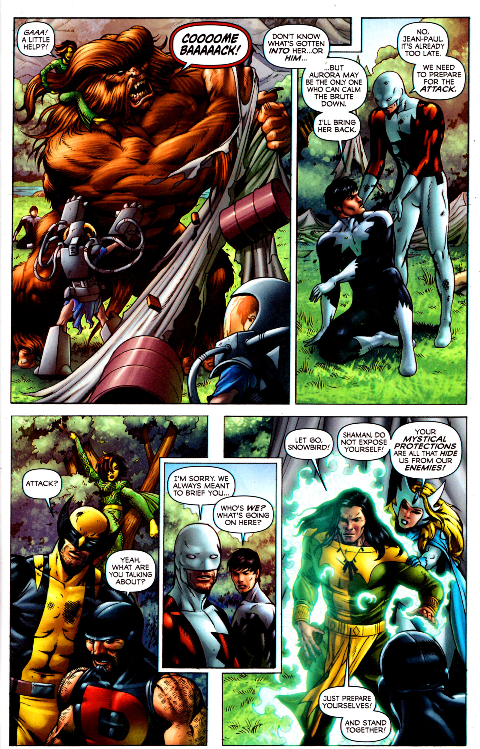 Read online Alpha Flight (2011) comic -  Issue #7 - 15