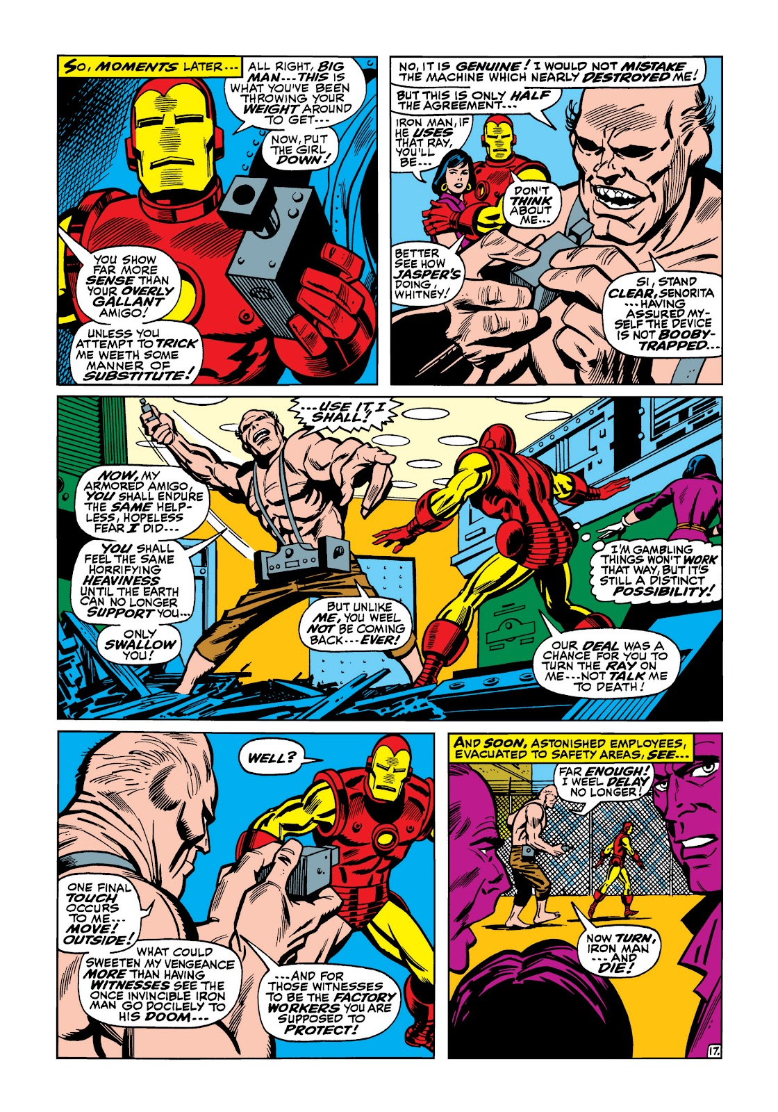 Read online Marvel Masterworks: The Invincible Iron Man comic -  Issue # TPB 5 (Part 2) - 8