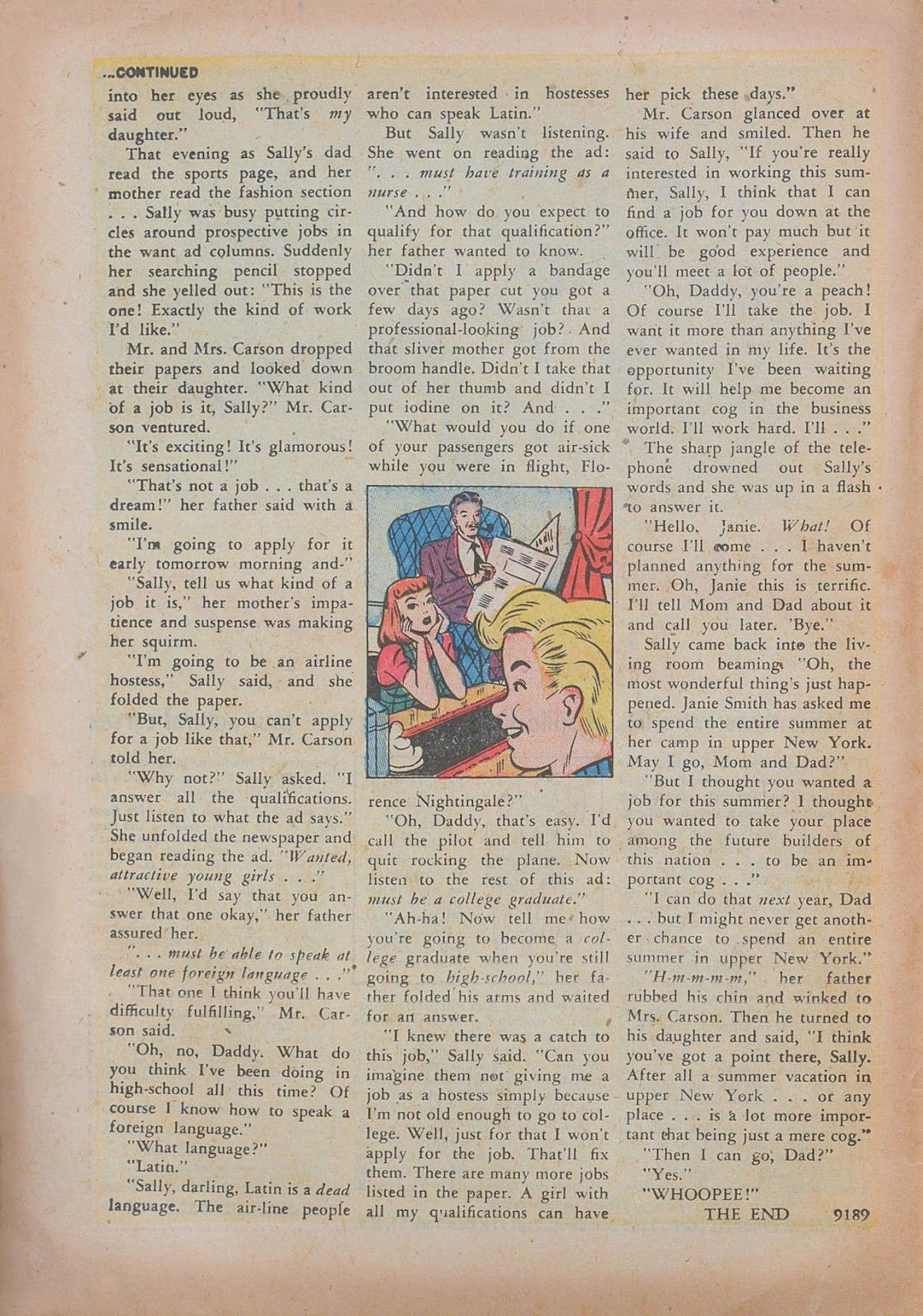 Read online Nellie The Nurse (1945) comic -  Issue #31 - 18