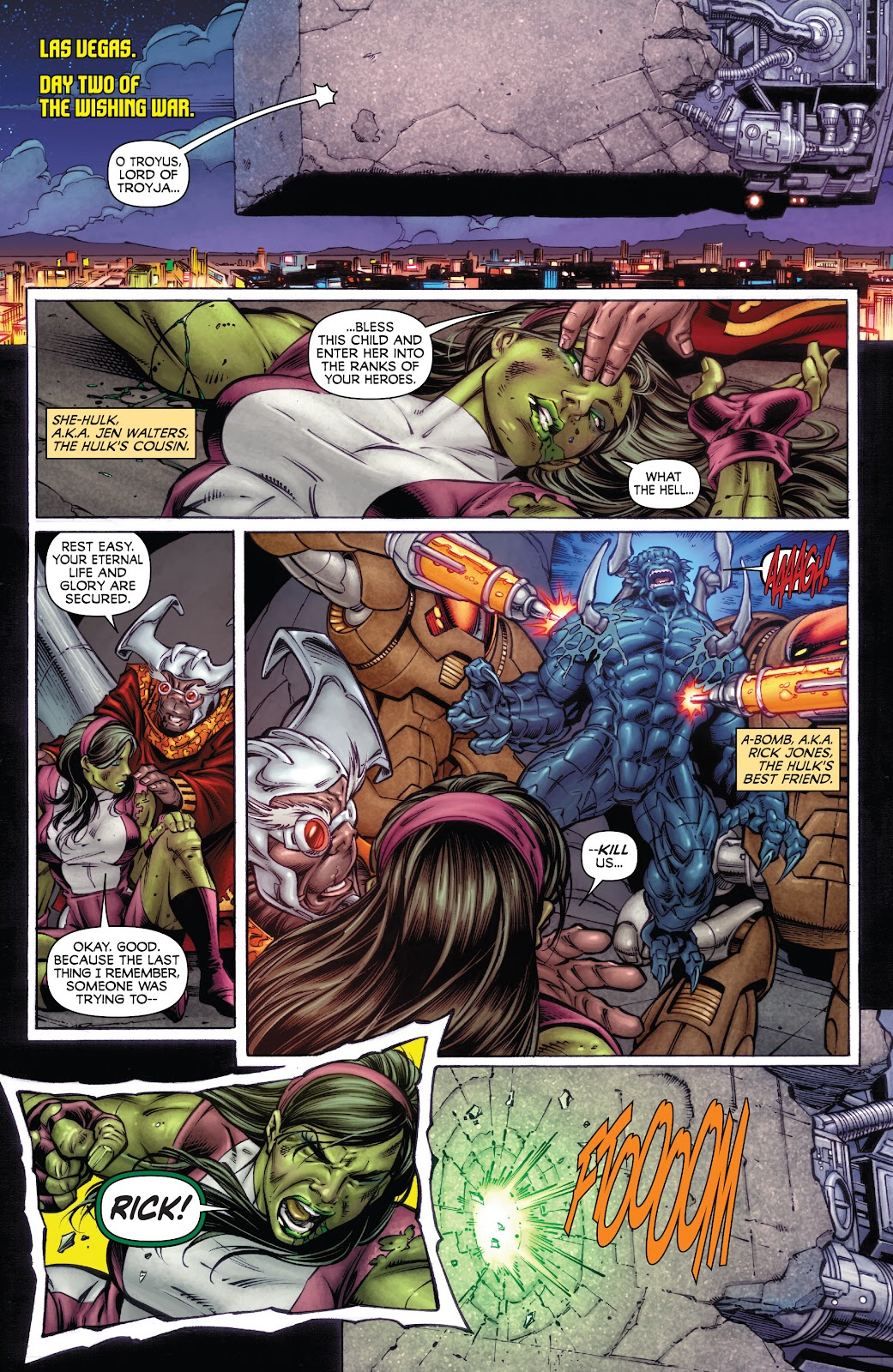 Read online Incredible Hulks (2010) comic -  Issue # _TPB Heart of the Monster - 48