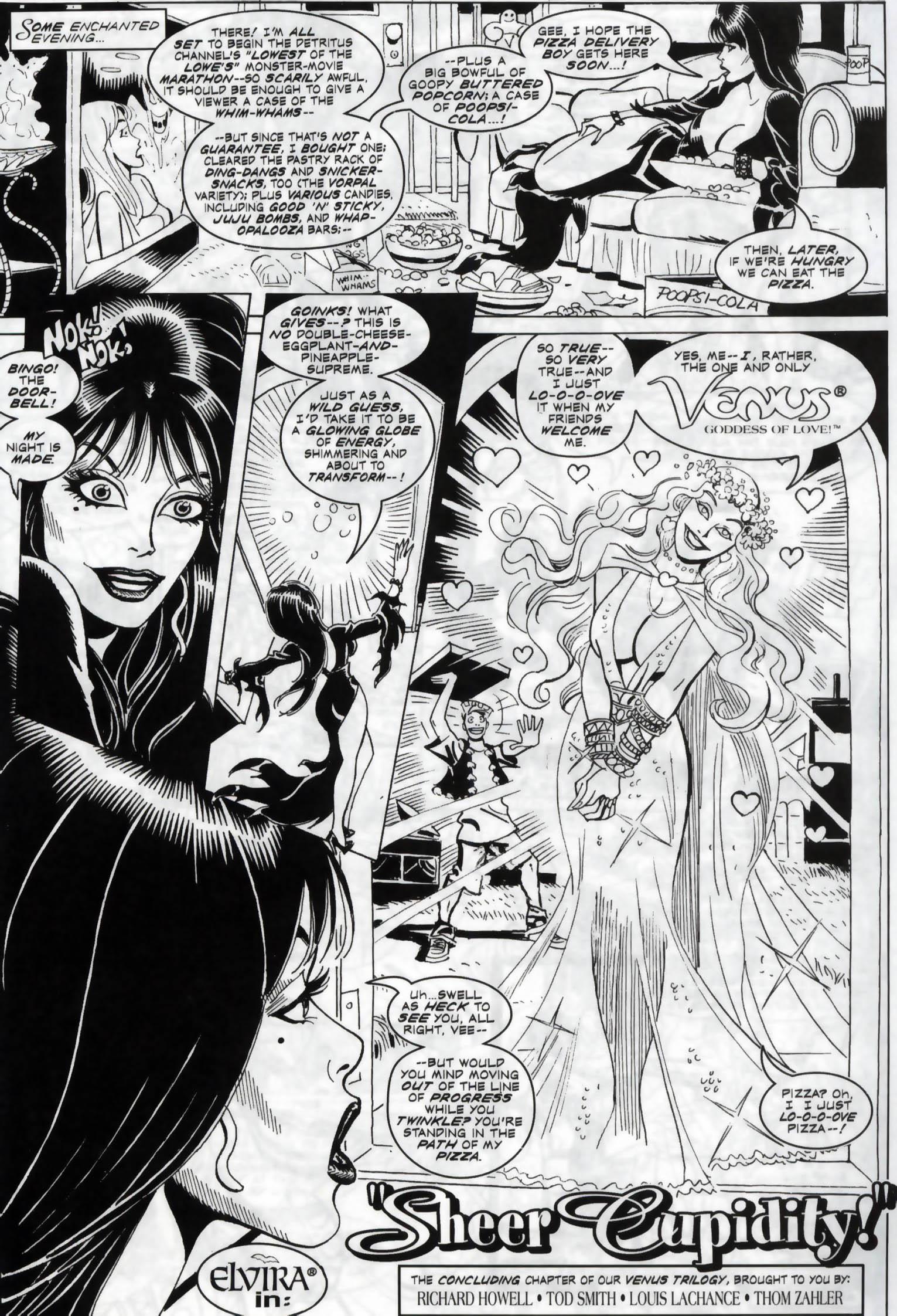 Read online Elvira, Mistress of the Dark comic -  Issue #119 - 18