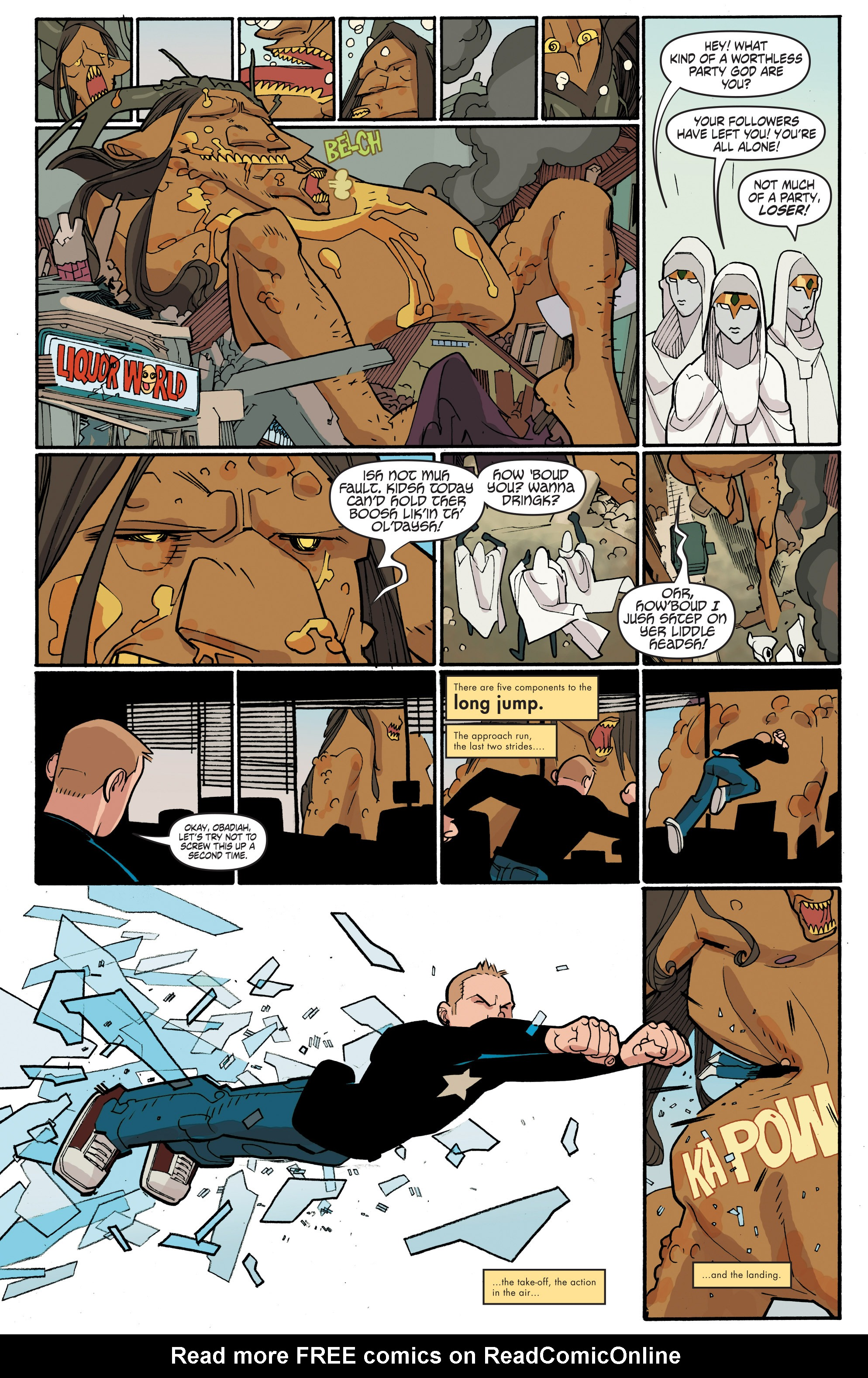 Read online A&A: The Adventures of Archer & Armstrong comic -  Issue #4 - 14