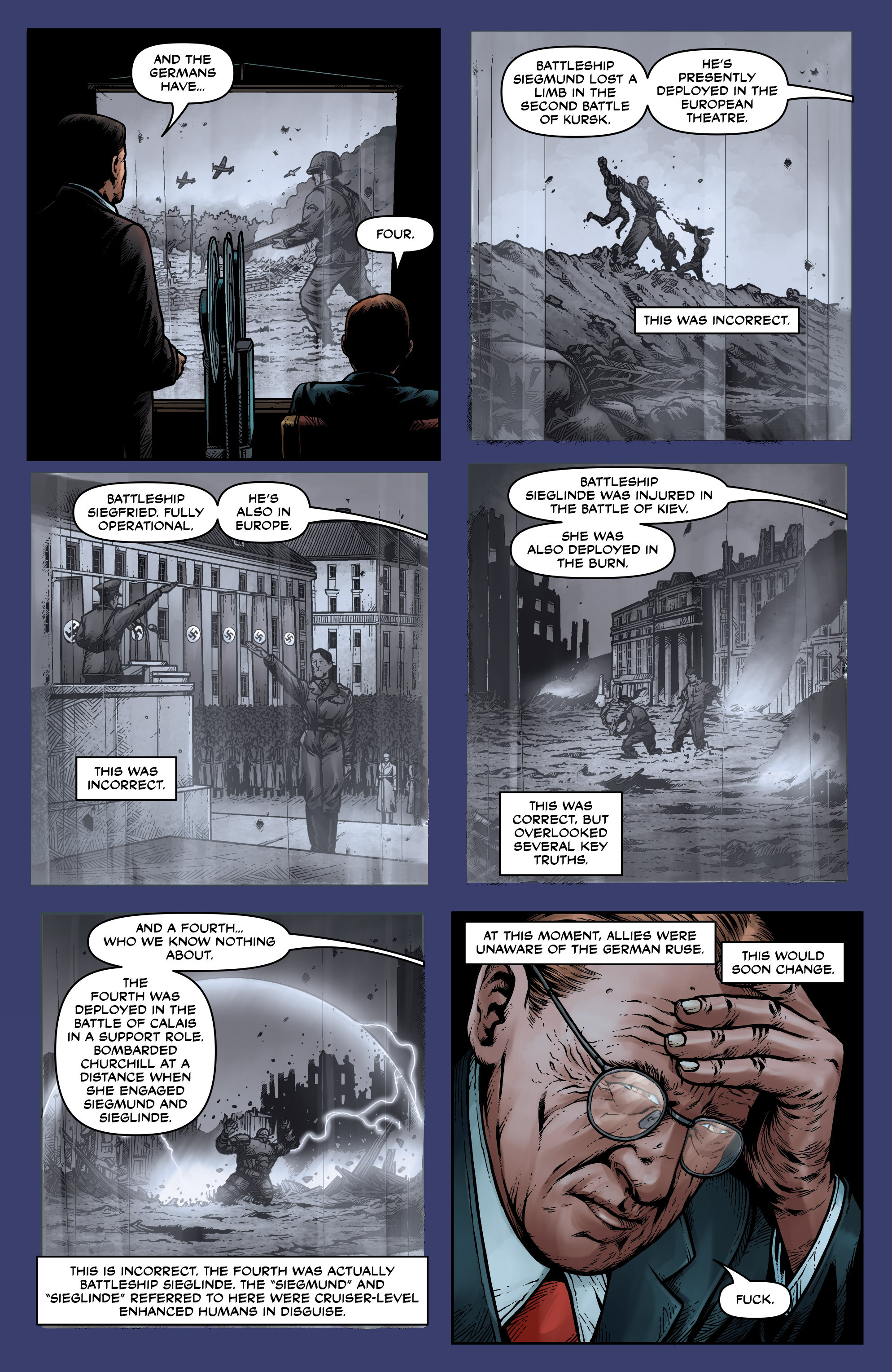Read online Uber: Invasion comic -  Issue #1 - 14