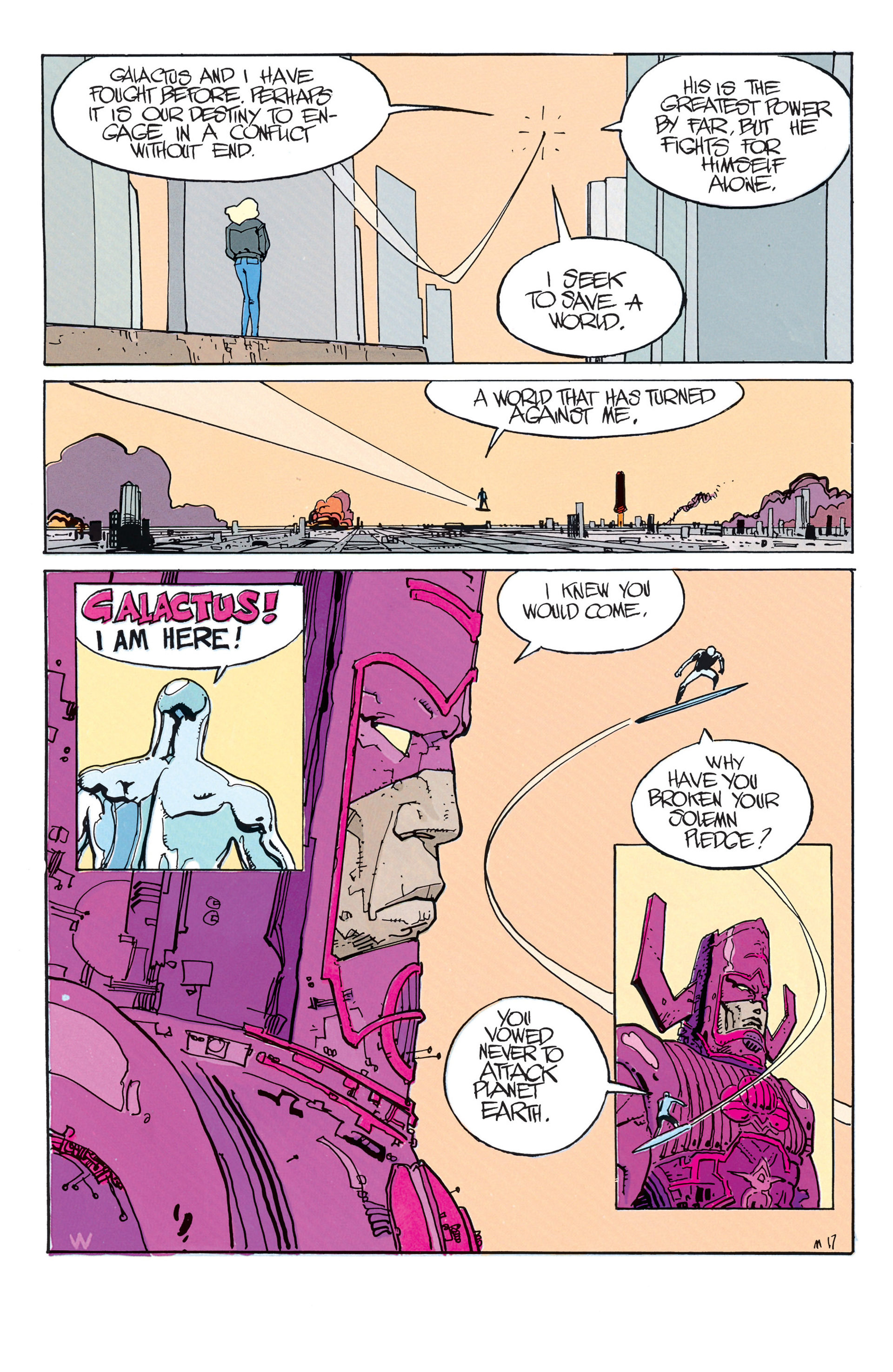 Read online Silver Surfer (1988) comic -  Issue #2 - 3