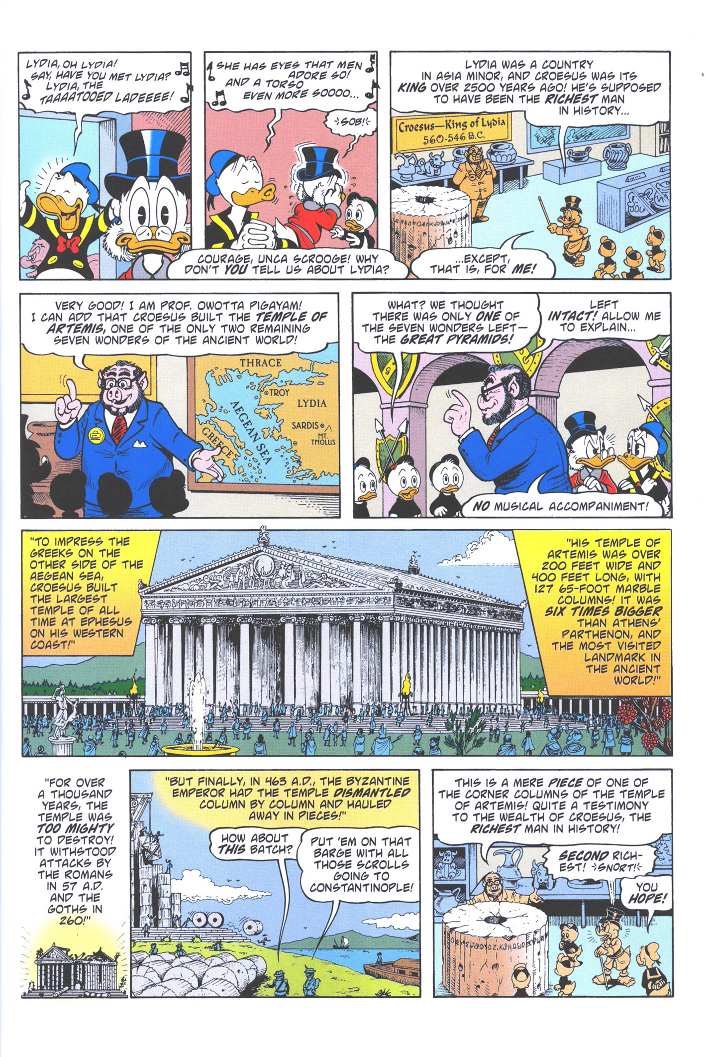 Read online Uncle Scrooge (1953) comic -  Issue #372 - 33
