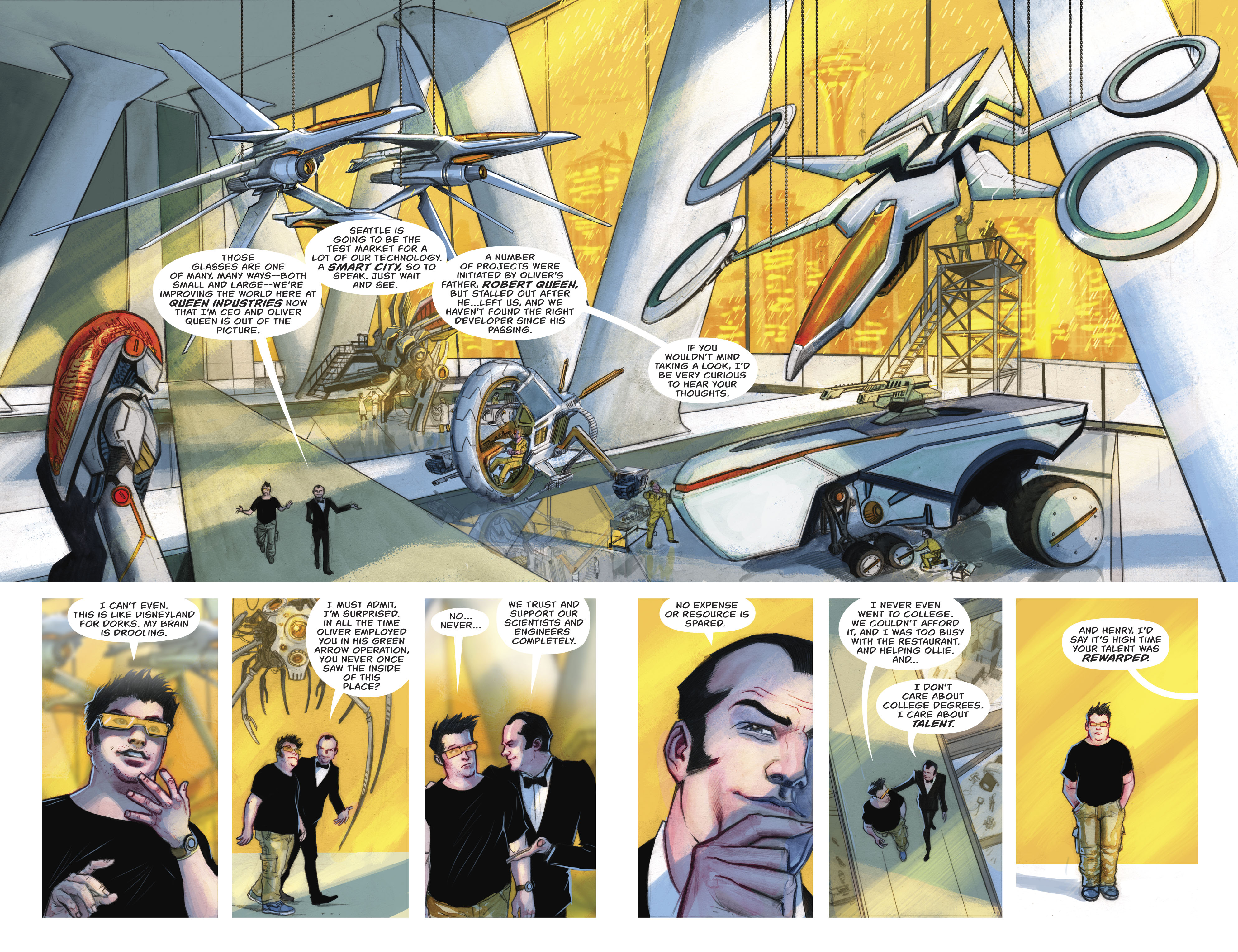 Read online Green Arrow (2016) comic -  Issue #23 - 14