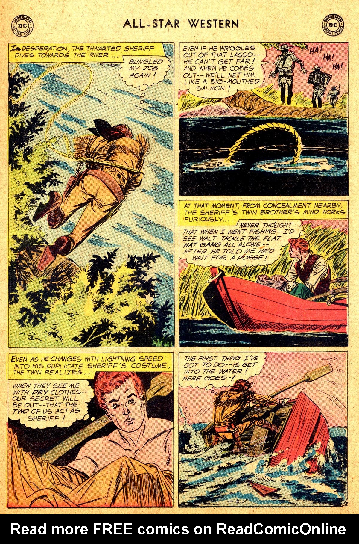 Read online All-Star Western (1951) comic -  Issue #104 - 5