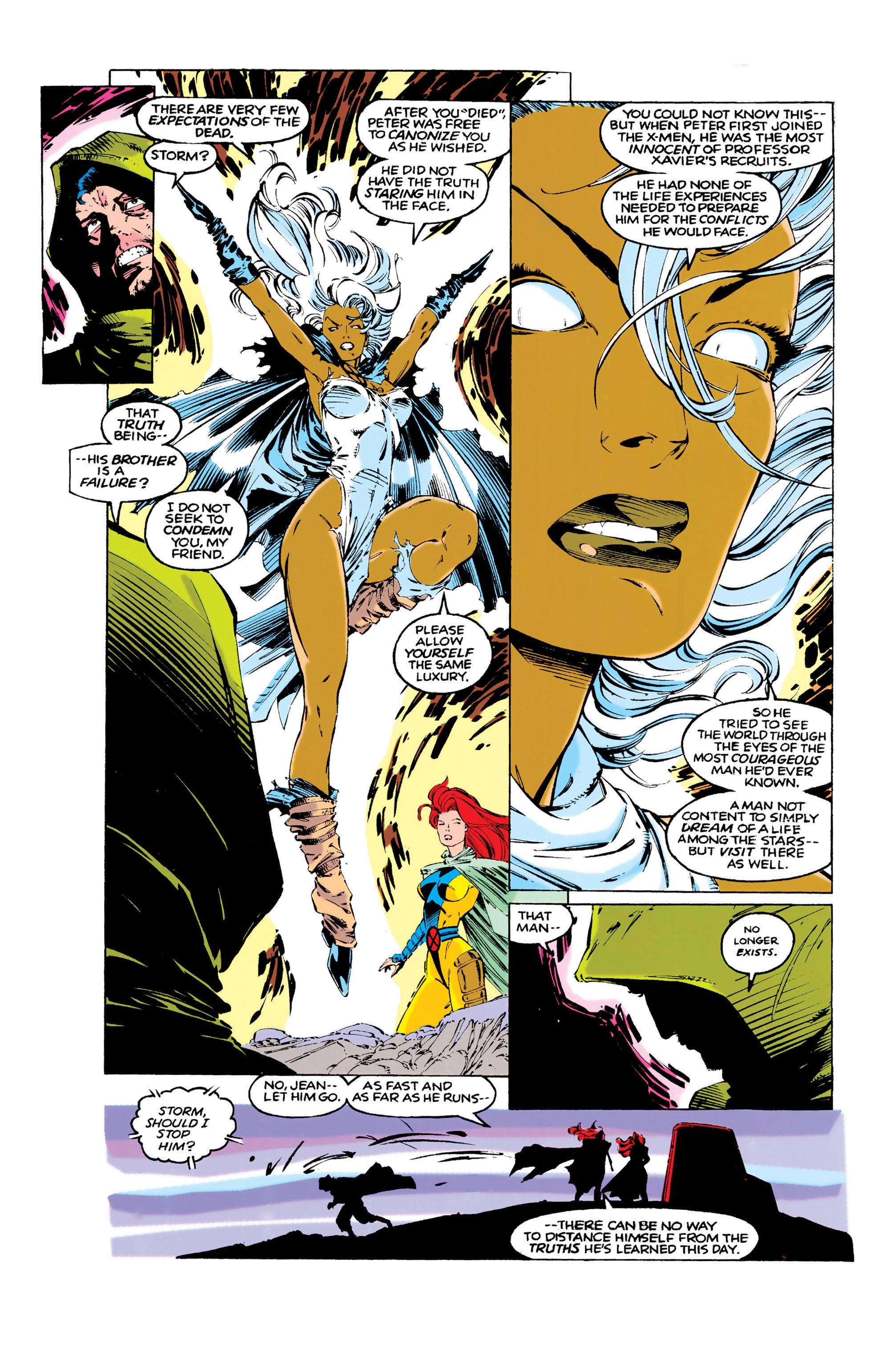 Read online Uncanny X-Men (1963) comic -  Issue #286 - 11