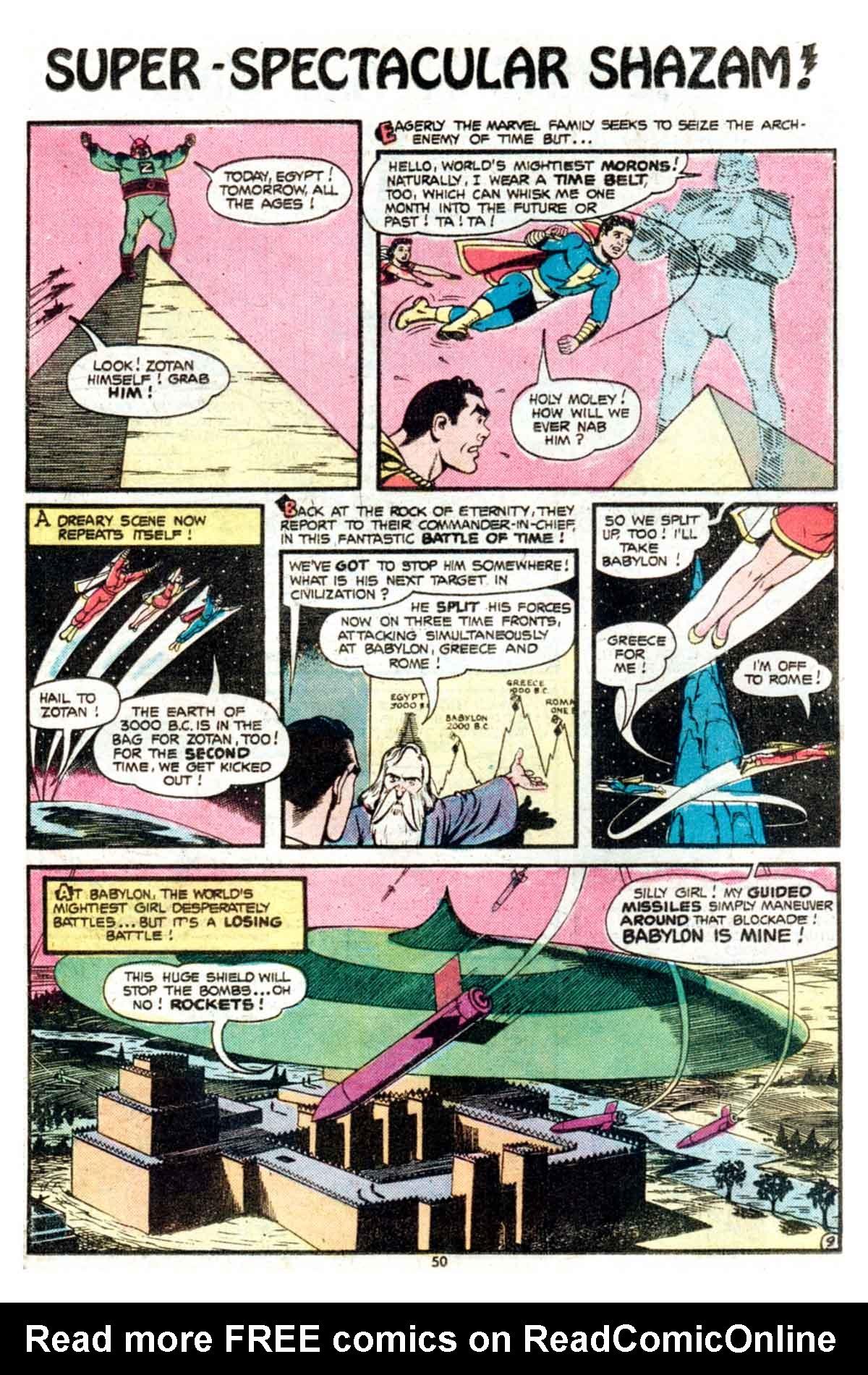 Read online Shazam! (1973) comic -  Issue #15 - 50