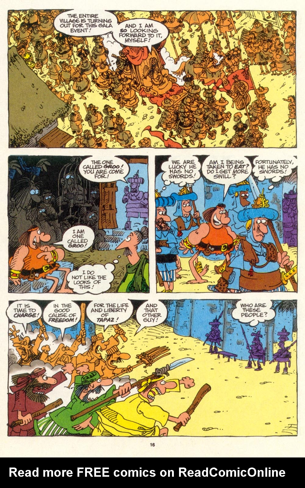 Read online Sergio Aragonés Groo the Wanderer comic -  Issue #107 - 18