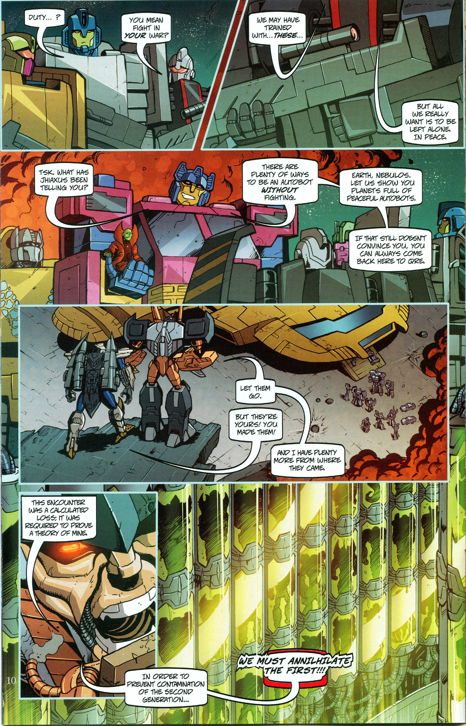 Read online Transformers: Collectors' Club comic -  Issue #48 - 10